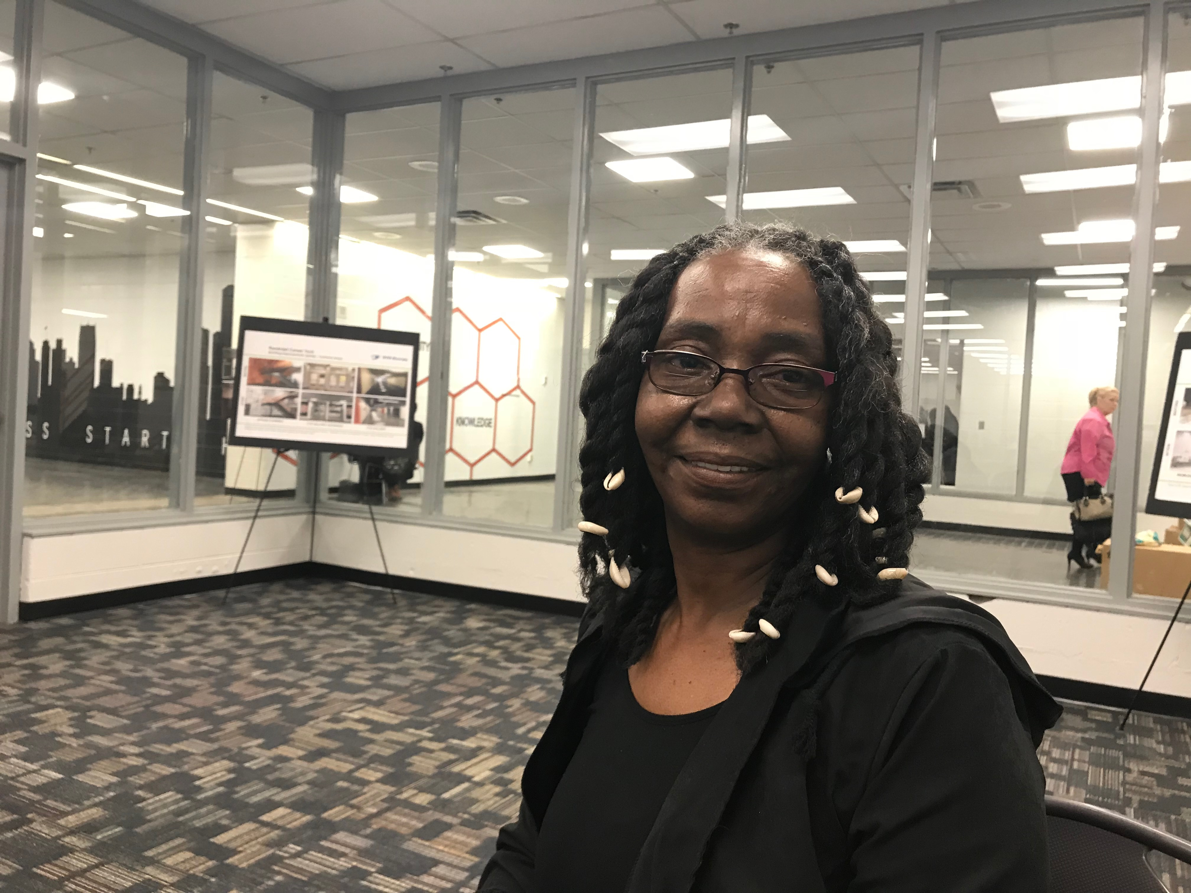 Sandra Cooper ponders her past as a district teacher, and hopes for a brighter future upon her return