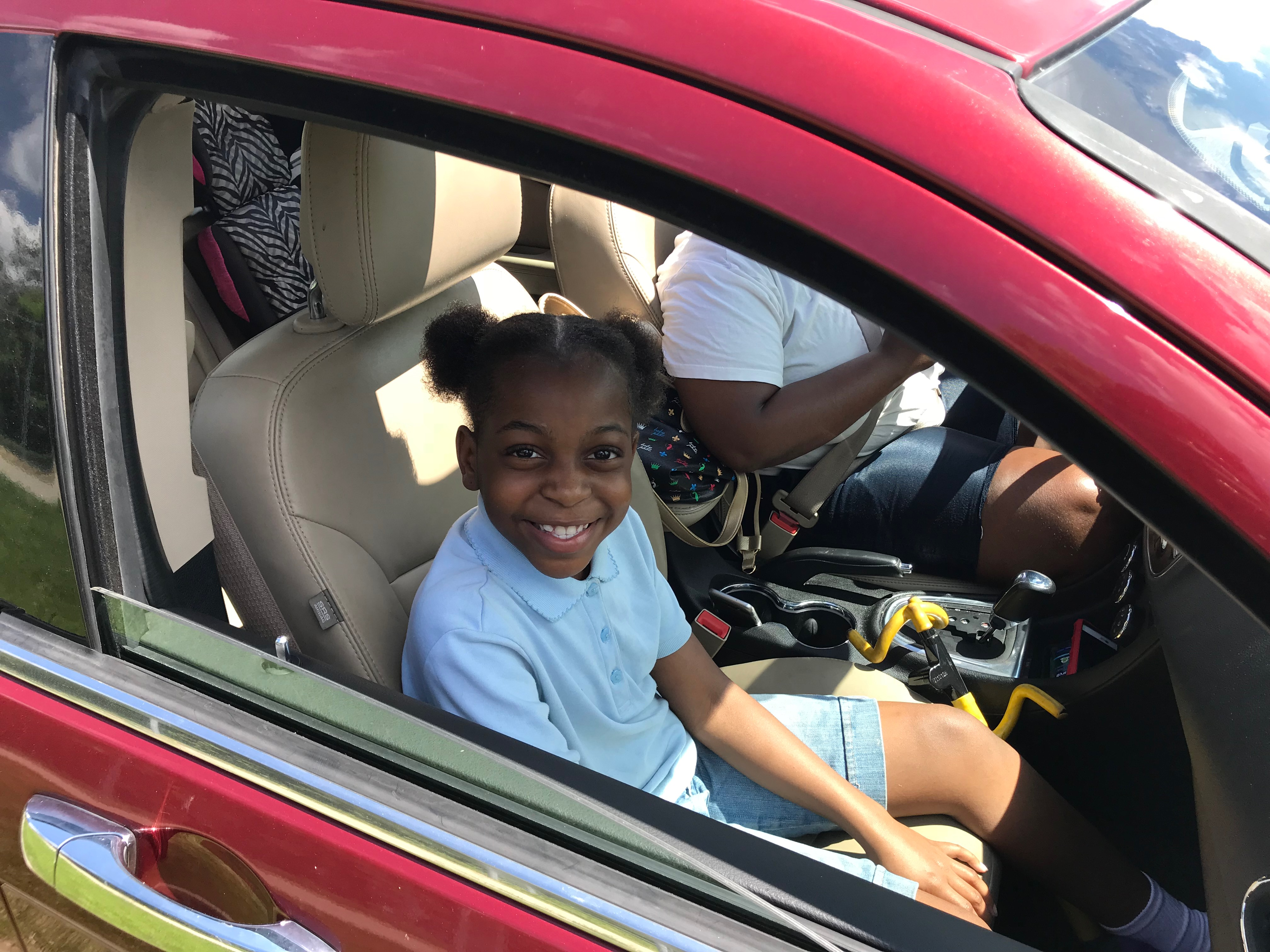 After her 11:40 a.m. dismissal Thursday, Lataliah Madden, a third grader at Davison Elementary-Middle School, said this week's early school closures due to extreme heat cut her education short