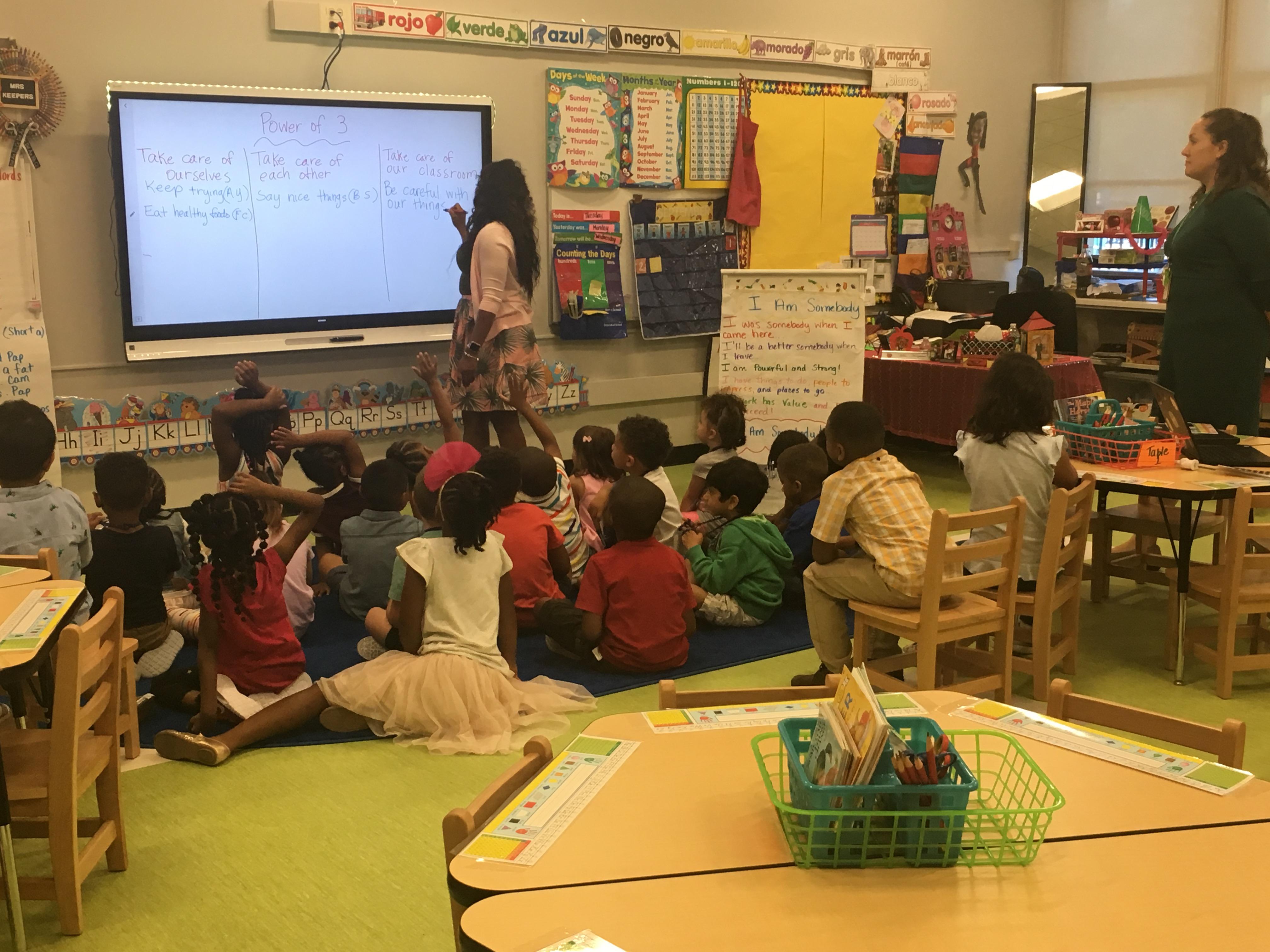 Kindergarten at Bronzeville Classical