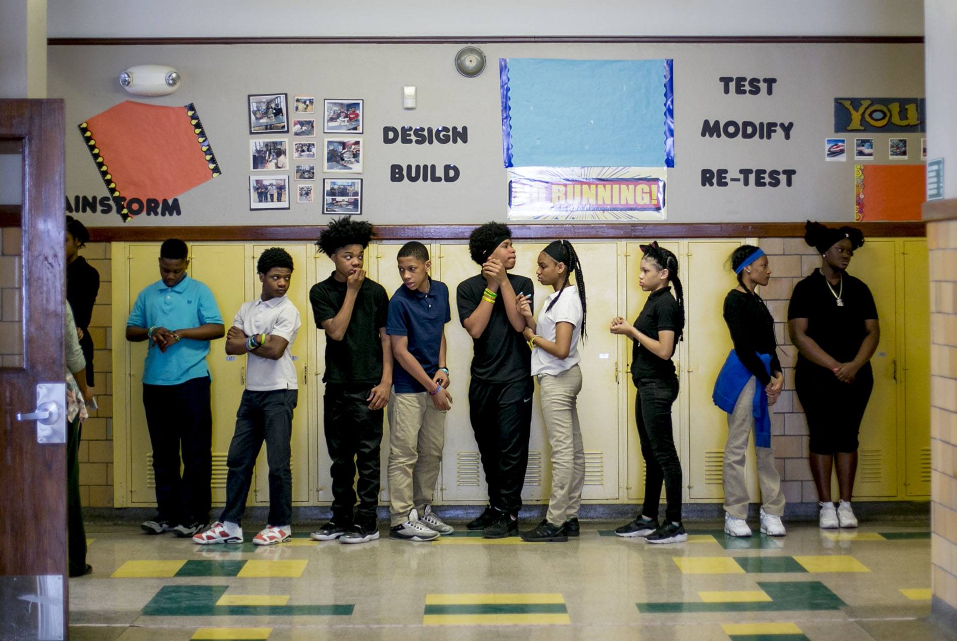 The 31 students in homeroom 8B at Bethune Elementary-Middle School in Detroit collectively attended 128 schools by the time they reached eighth grade. Citywide, one in three elementary school students changes schools every year.