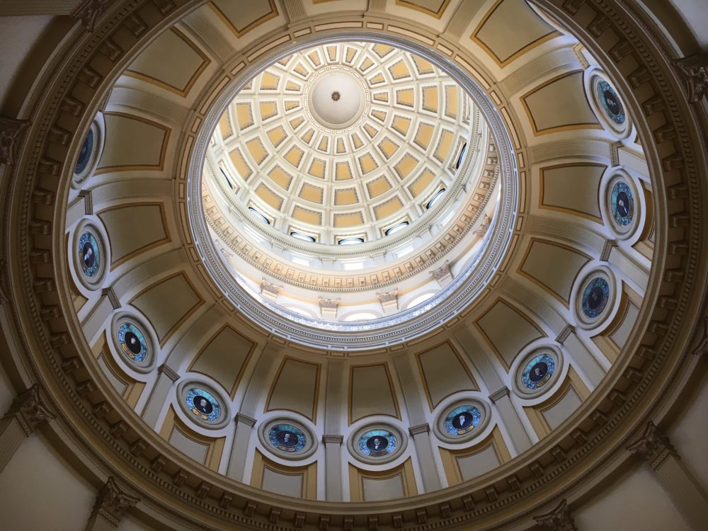 Under the dome, Colorado State Capitol