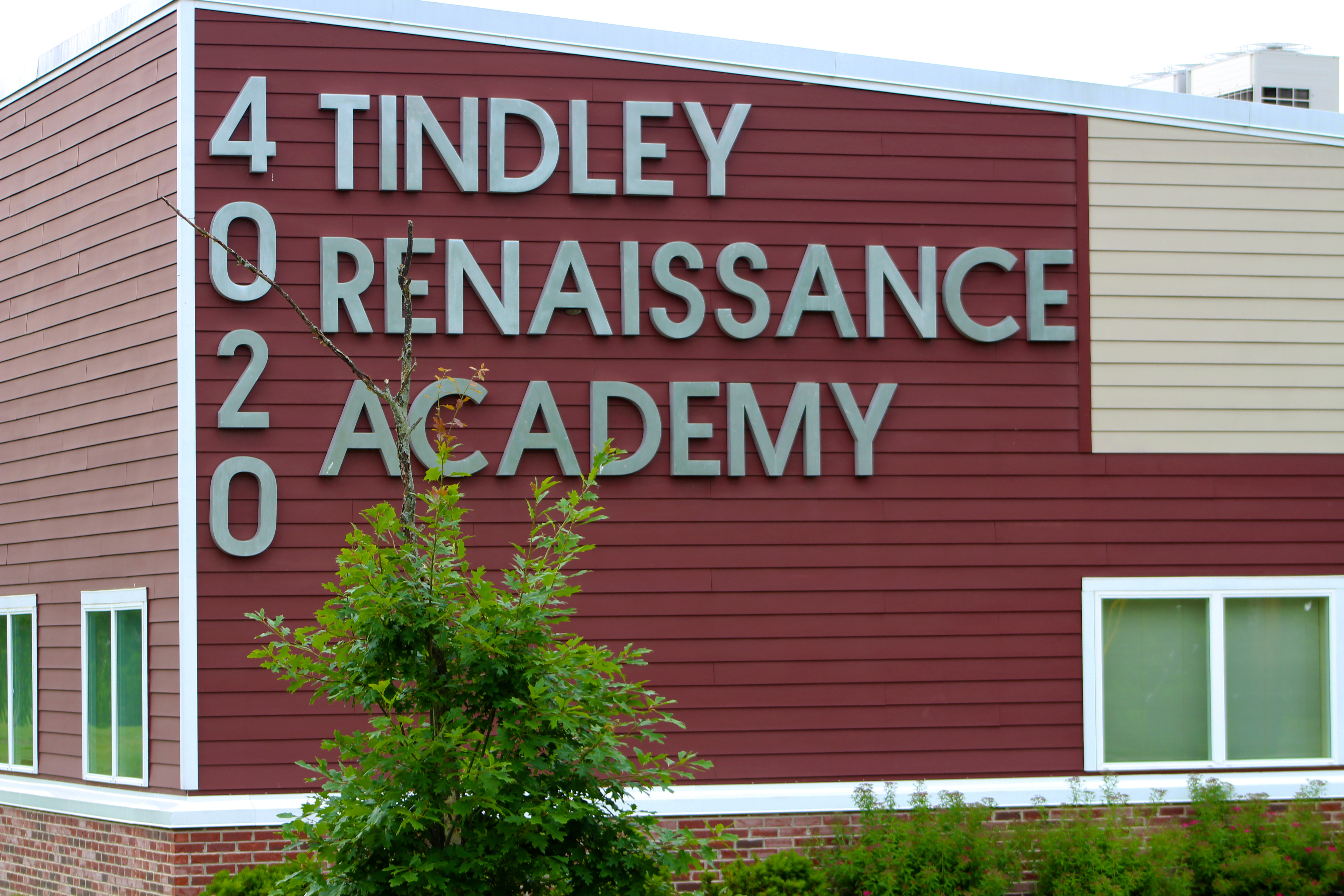 Tindley Renaissance Academy, one of three elementary schools in the Tindley Accelerated Schools Network, sits on the east side of Indianapolis.