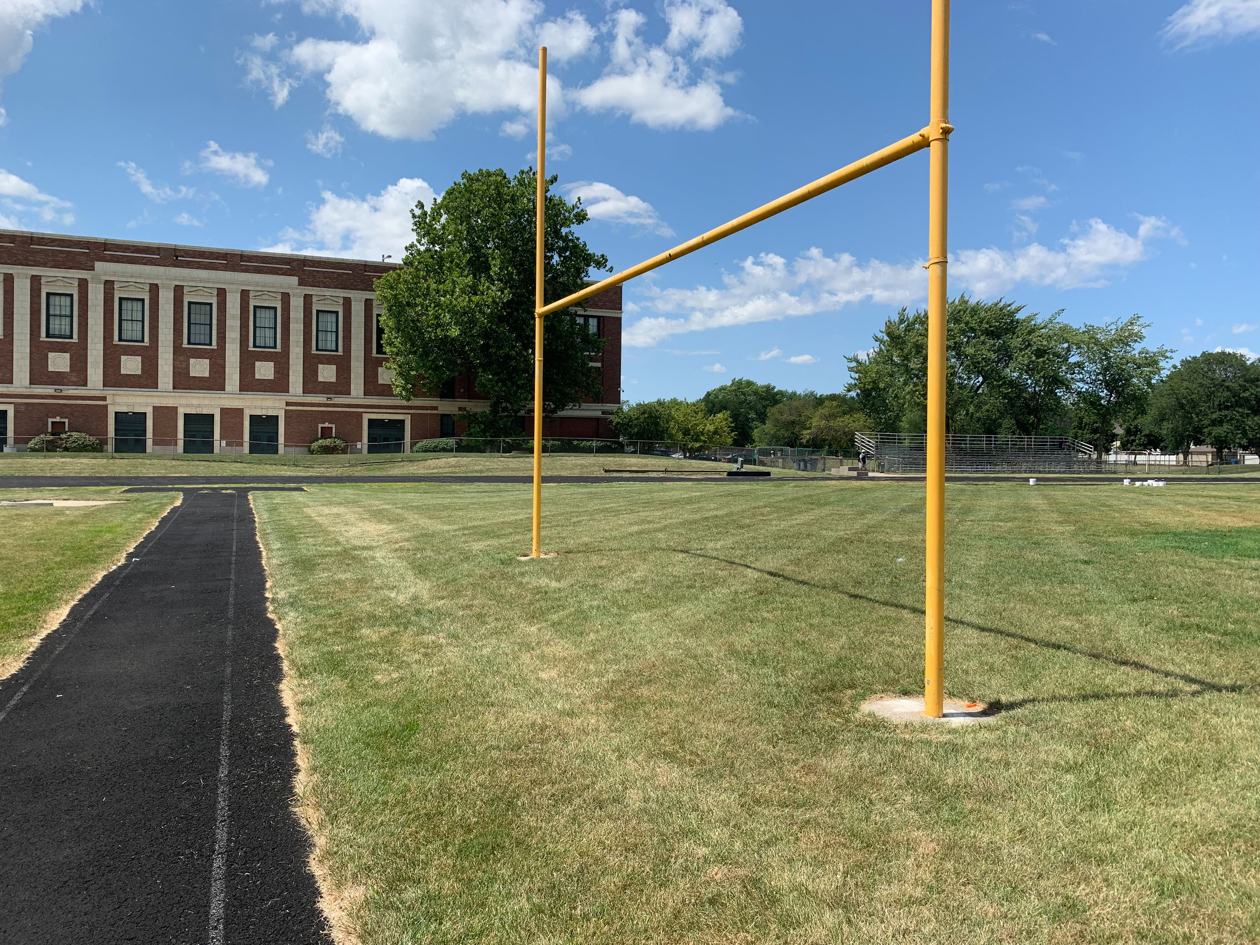 Morgan Park High School on Chicago's Southwest Side is in line for $23 million in upgrades, including new sports fields.