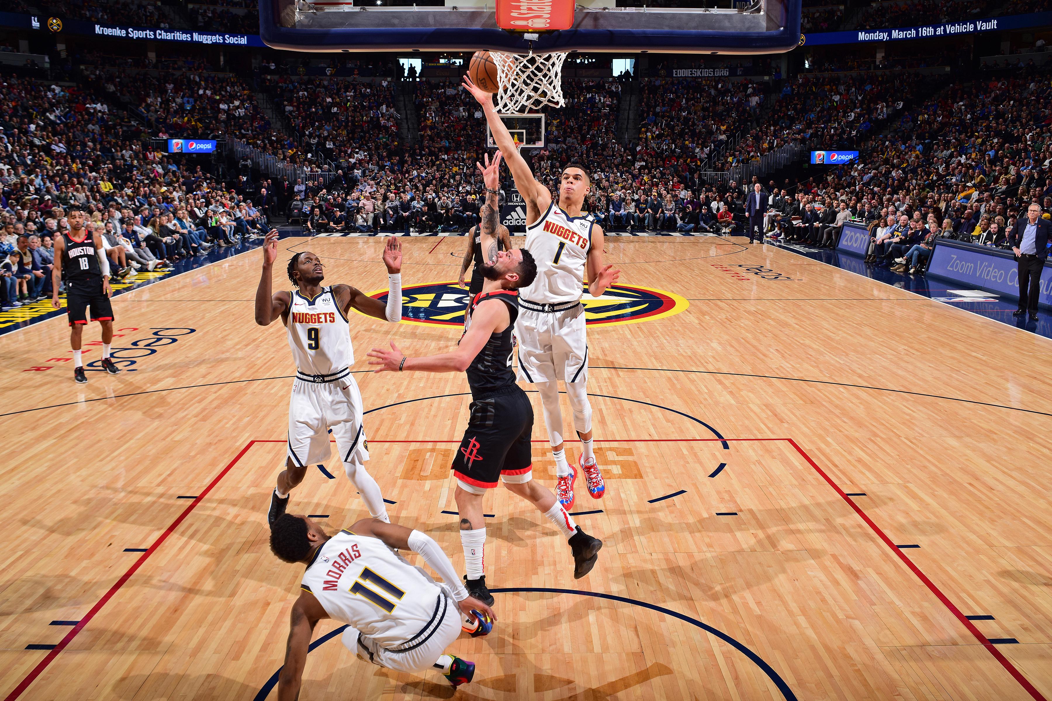 Houston Rockets v Denver Nuggets
