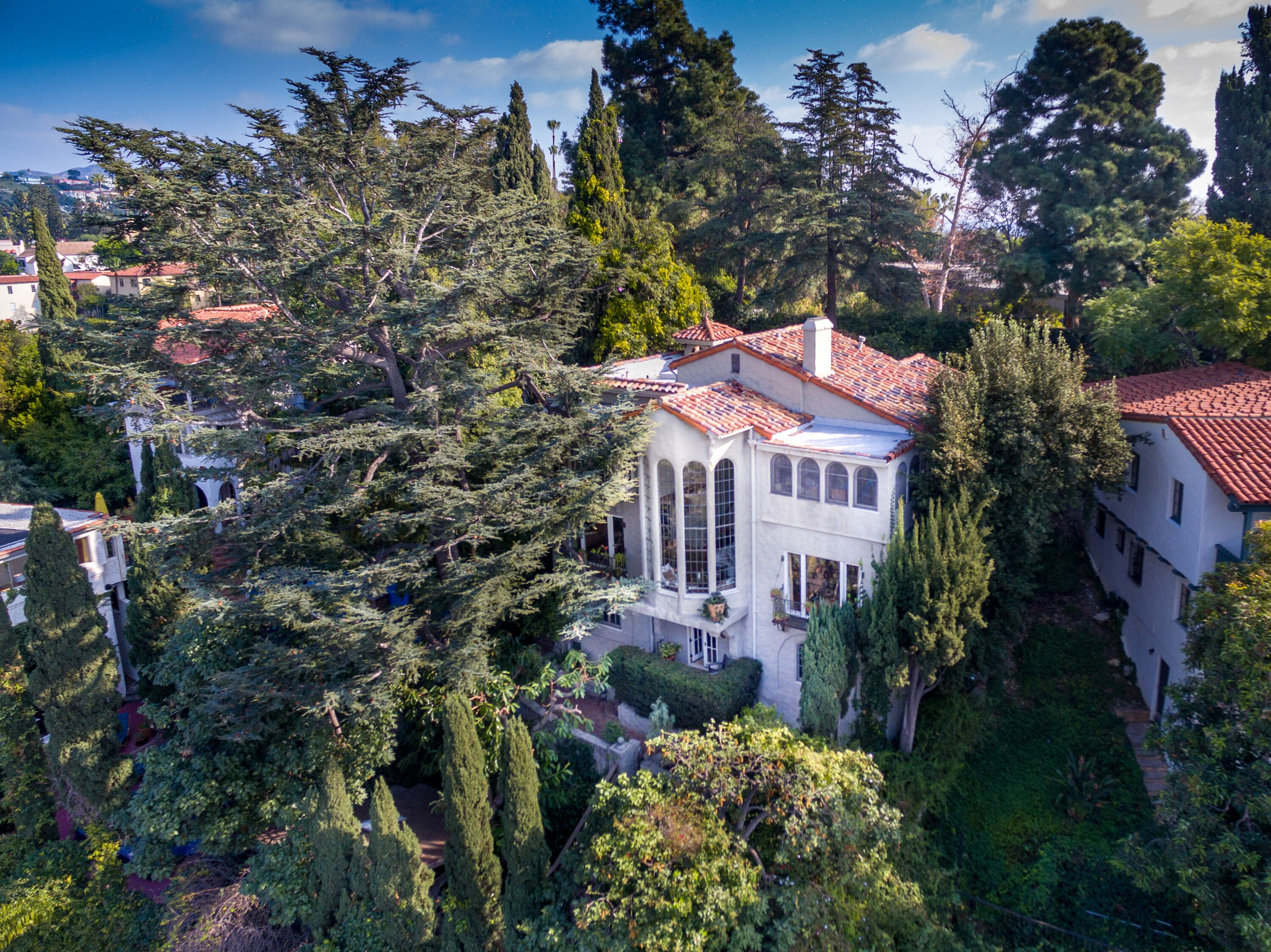 Romantic 1920s Mediterranean in Whitley Heights asking $2M