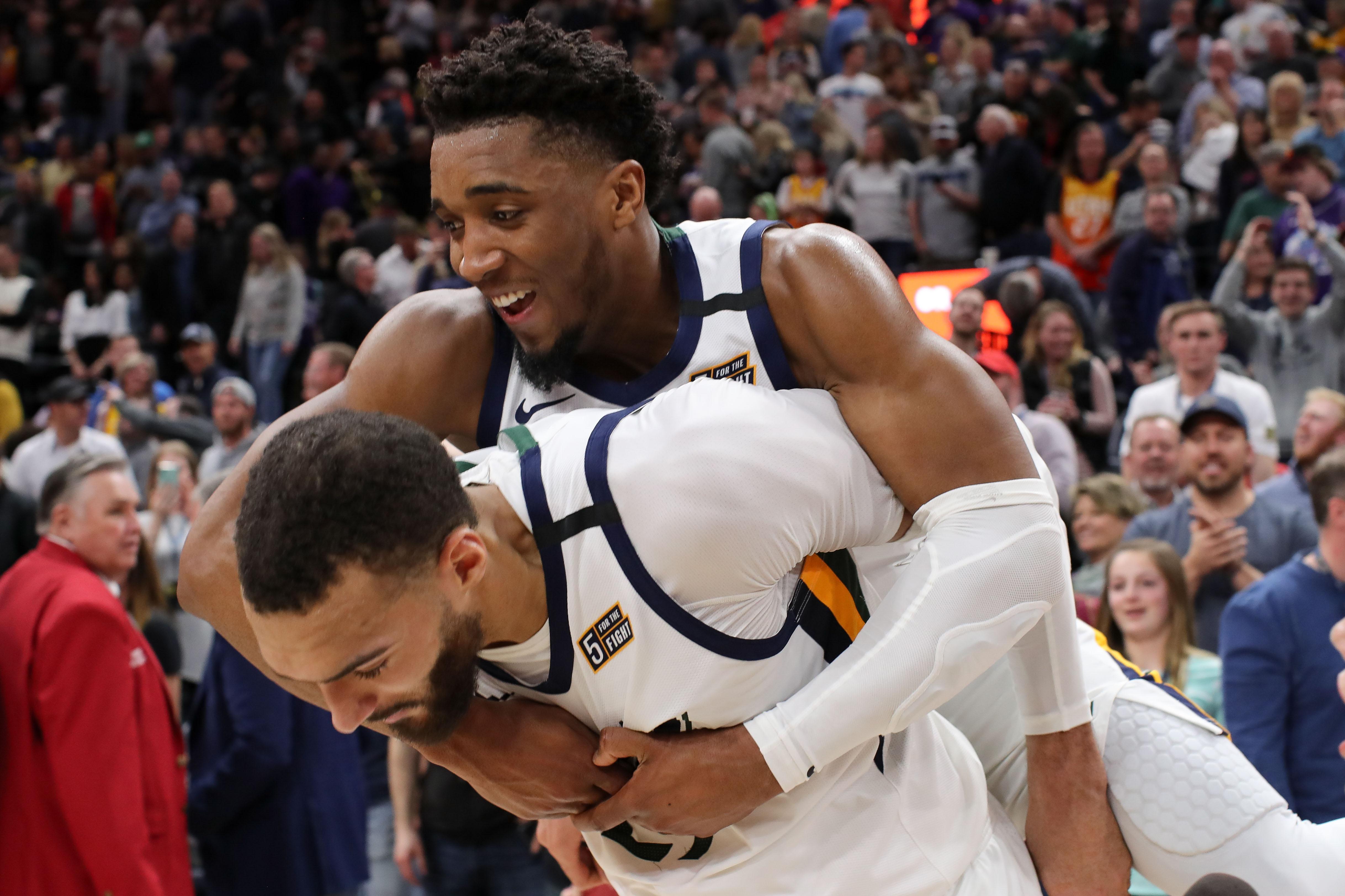 NBA: Dallas Mavericks at Utah Jazz