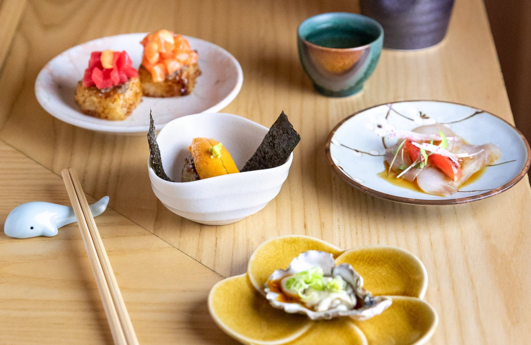 New York Omakase Speedsters Arrive at King's Cross Food Court Helmed by Mumford and Sons Star