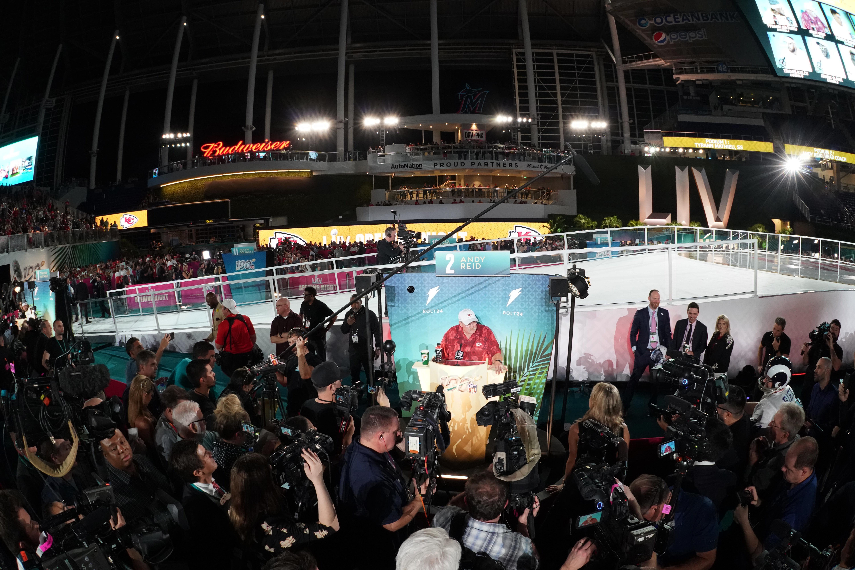 NFL: Super Bowl LIV Opening Night