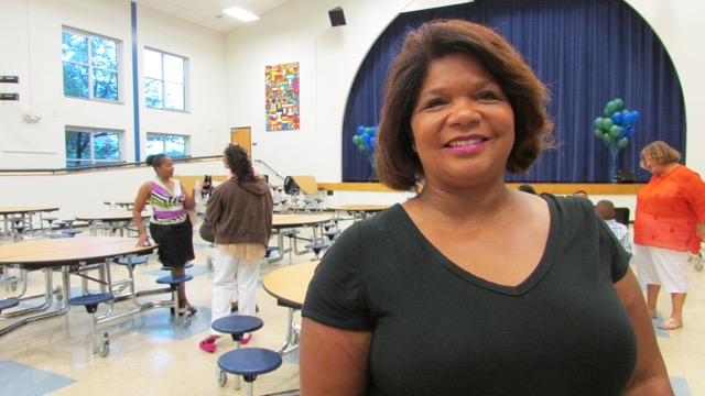 Kelly Johnson's daughter attends Edison School for the Arts.