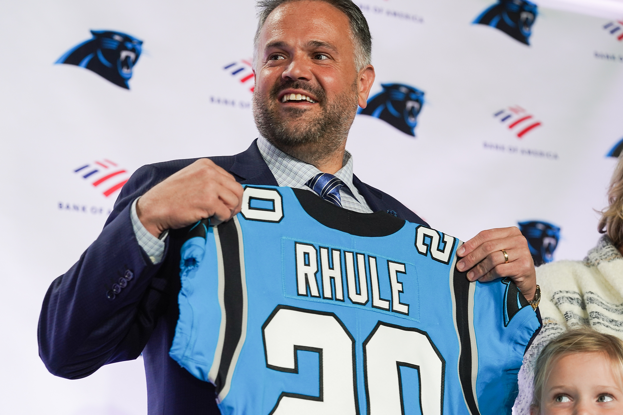 NFL: Carolina Panthers-Coach Matt Rhule Press Conference