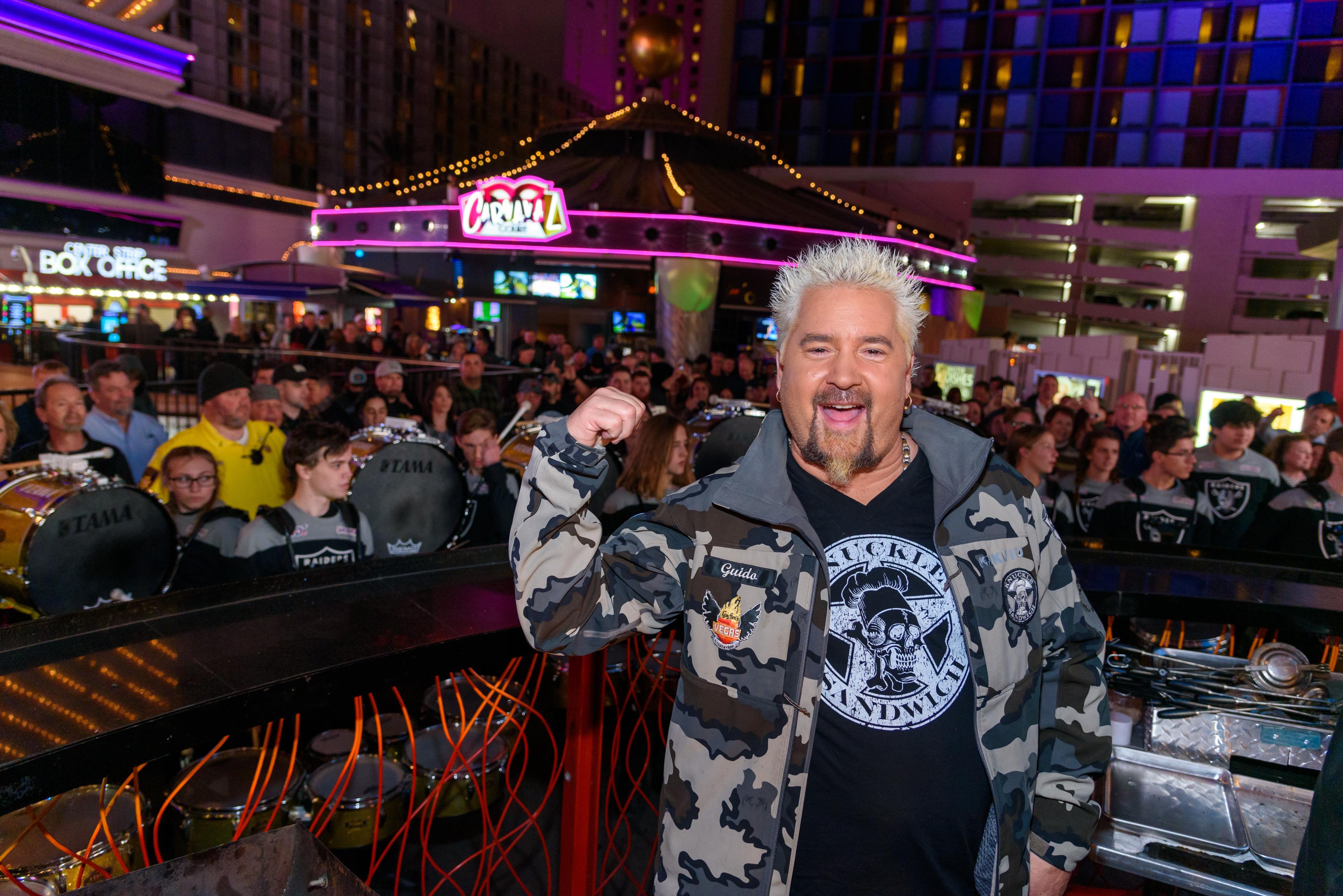 How Guy Fieri Celebrated His Birthday in Las Vegas