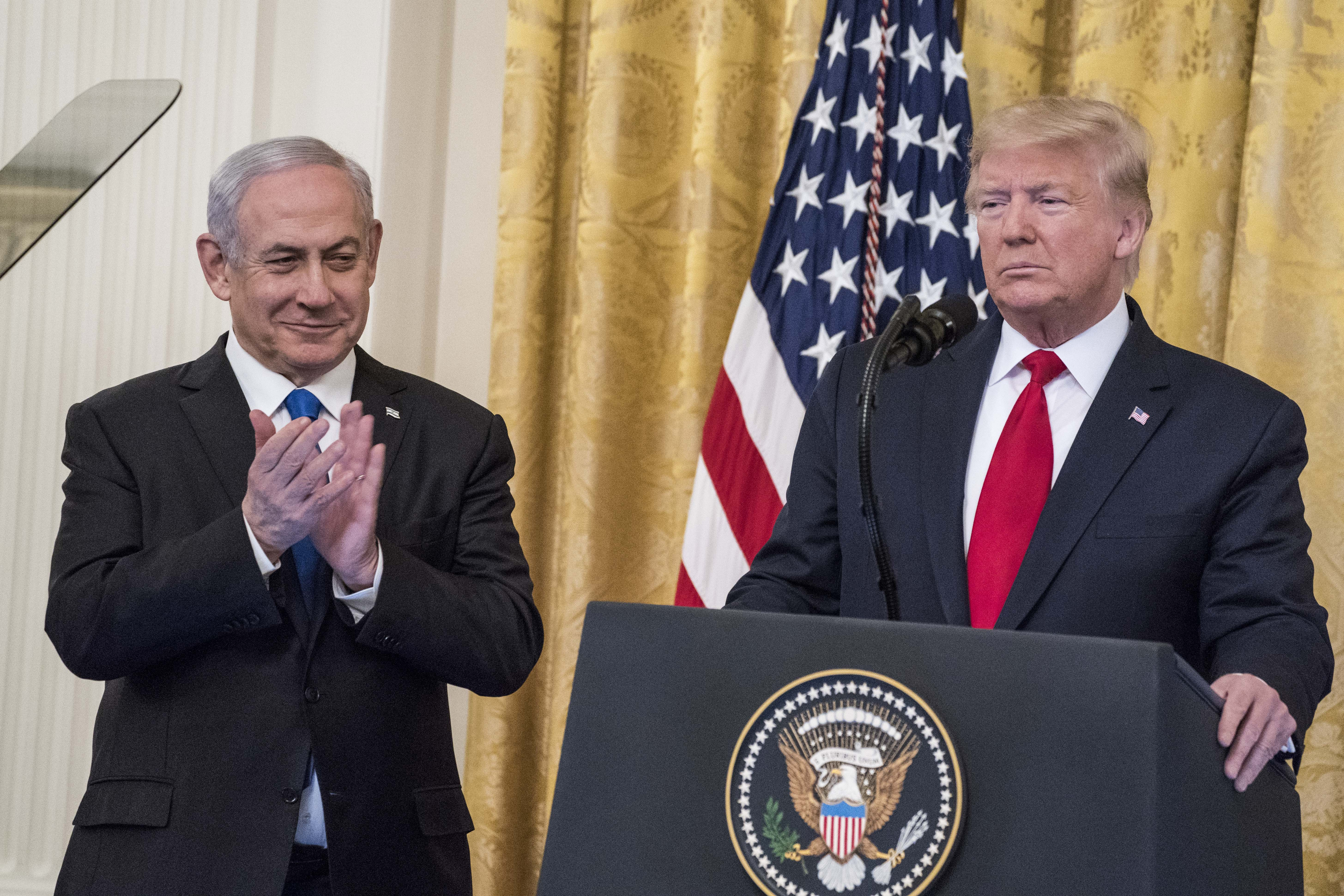 President Trump Meets With Israeli PM Netanyahu At The White House