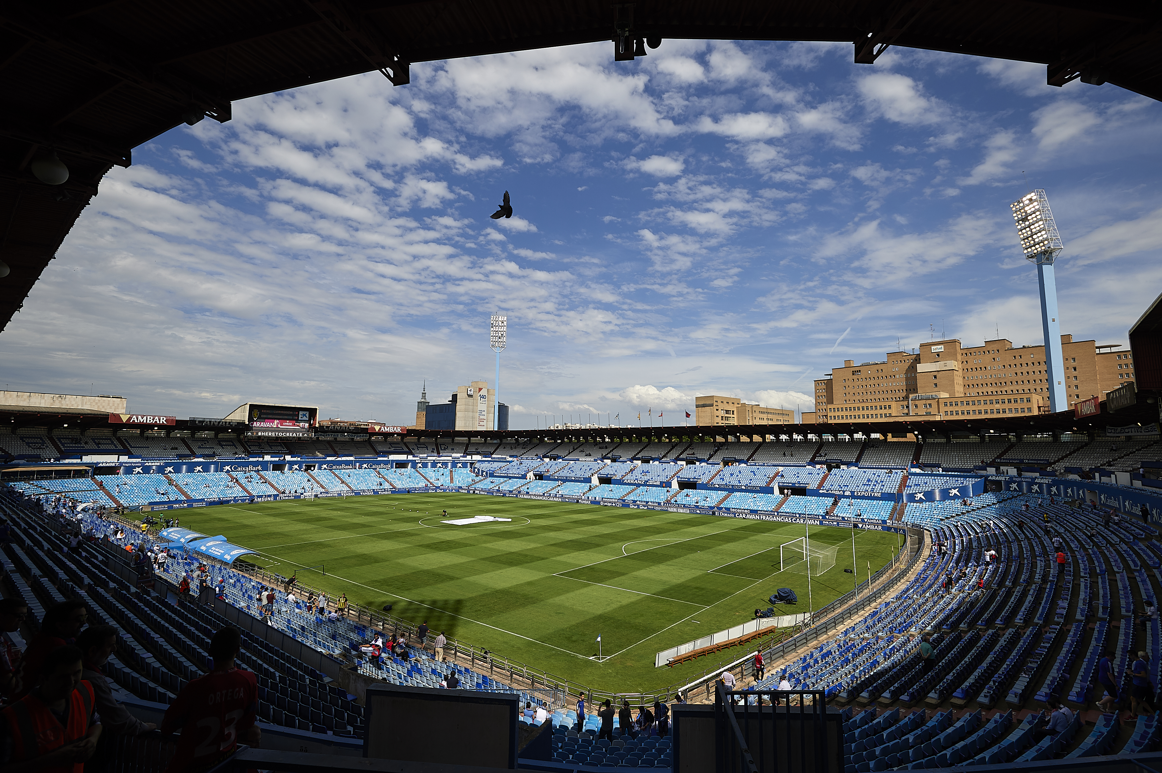 Real Zaragoza v CD Numancia - Segunda Division Play Off