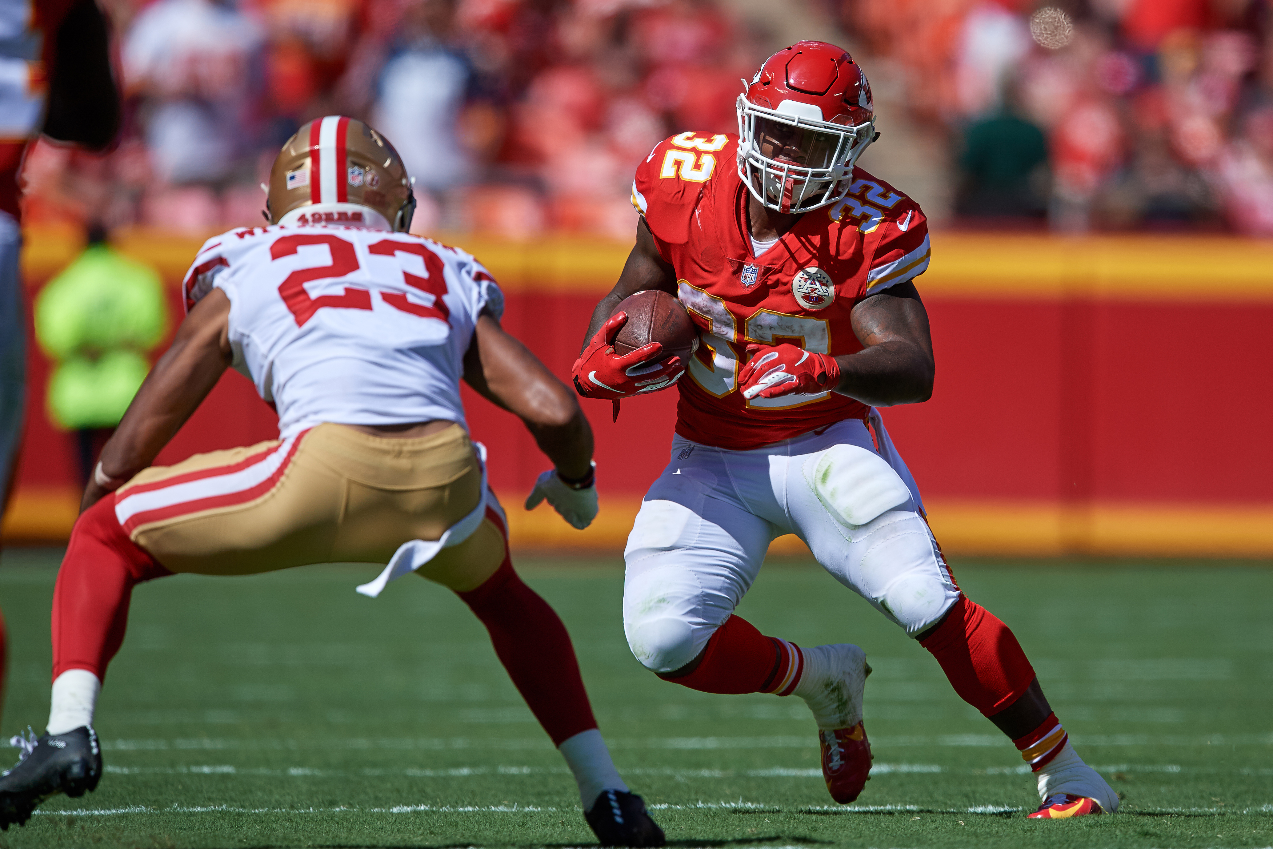 NFL: SEP 23 49ers at Chiefs