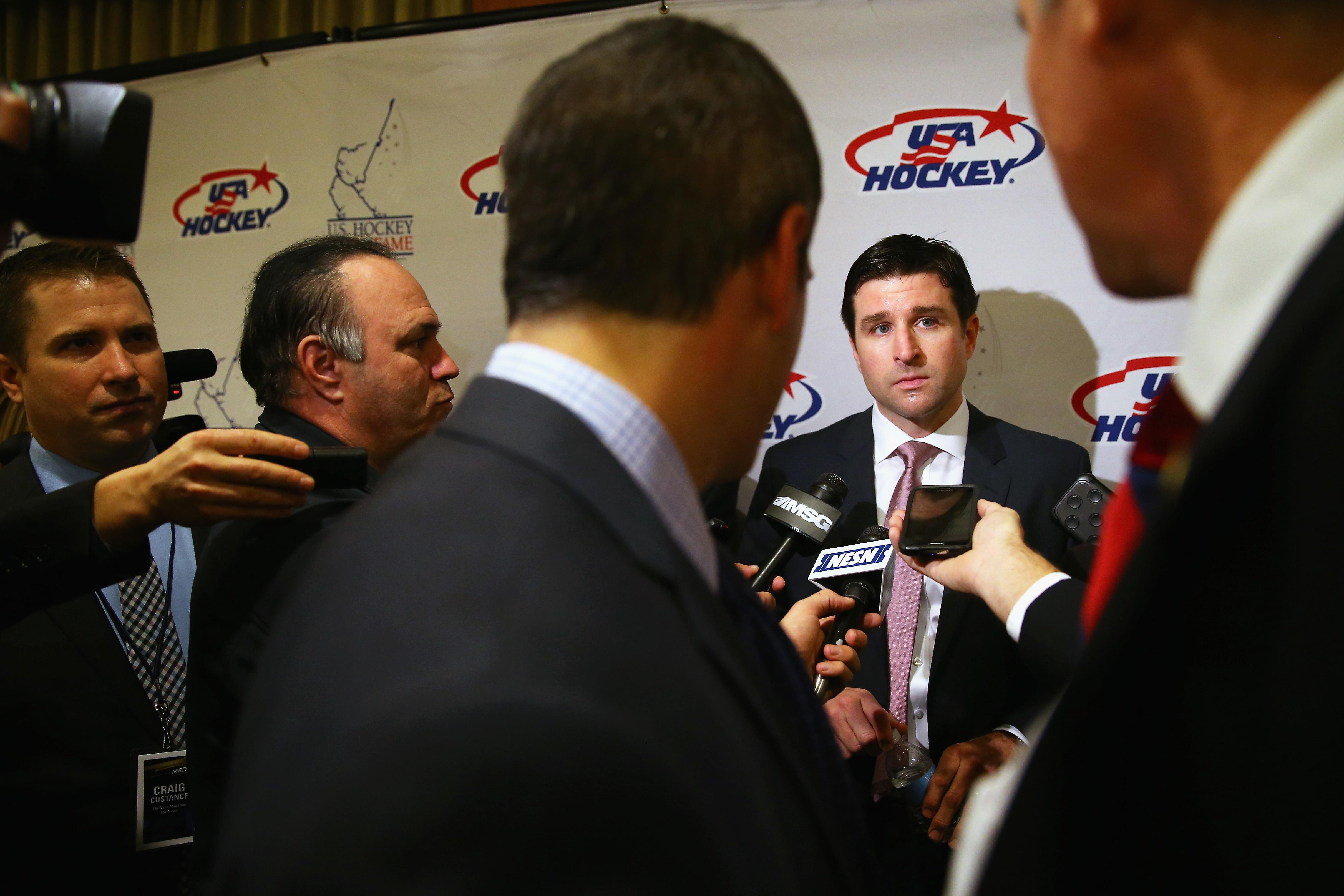 U.S. Hockey Hall Of Fame Induction