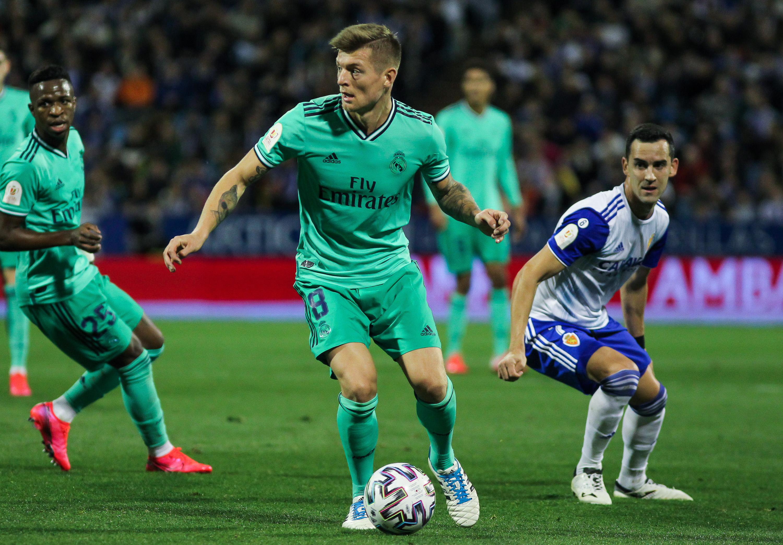 Copa Del Rey: Zaragoza V Real Madrid