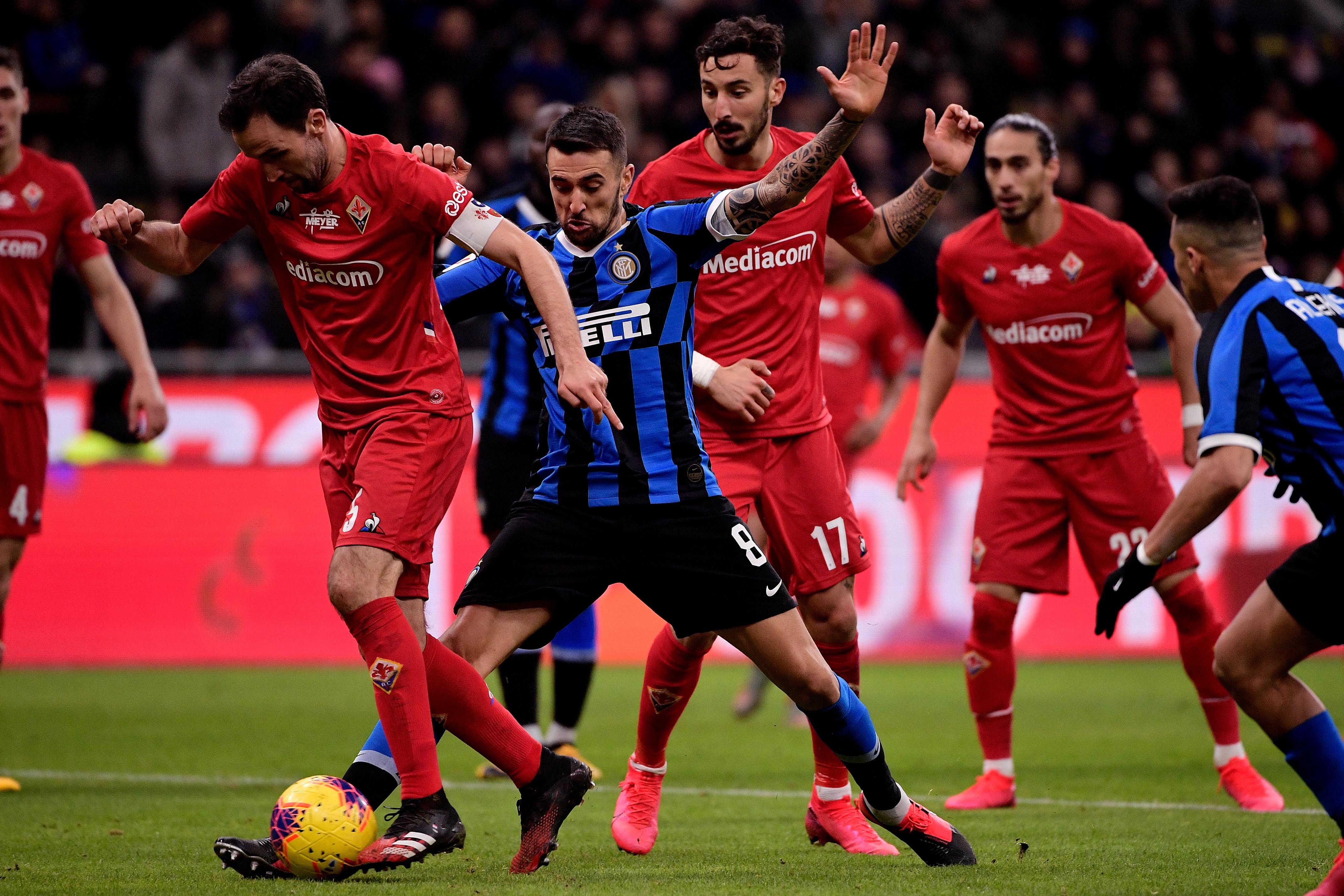 Internazionale v Fiorentina - Italian Coppa Italia