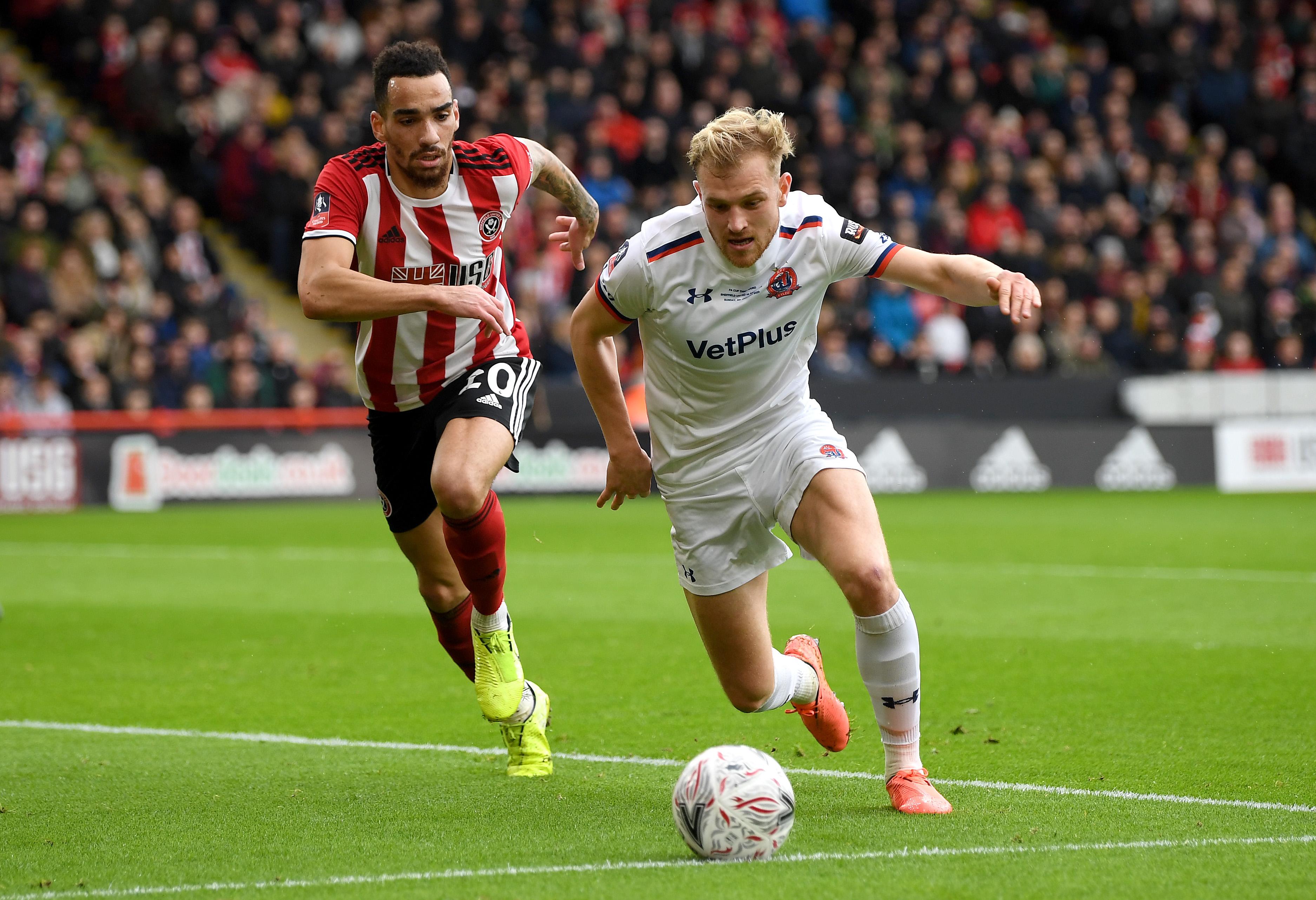 Sheffield United v AFC Fylde - FA Cup Third Round