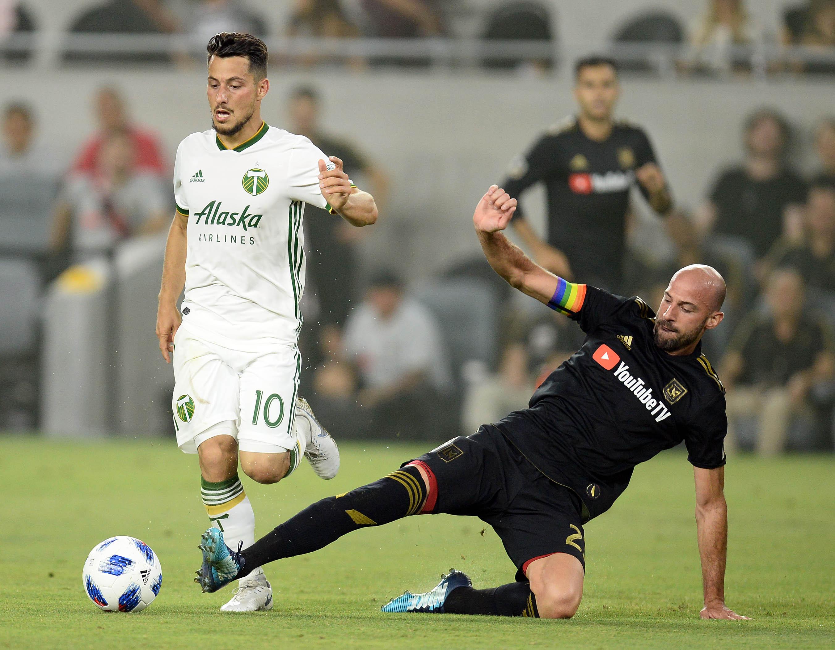 MLS: U.S. Open Cup Quarterfinal-Los Angeles FC vs Portland Timbers