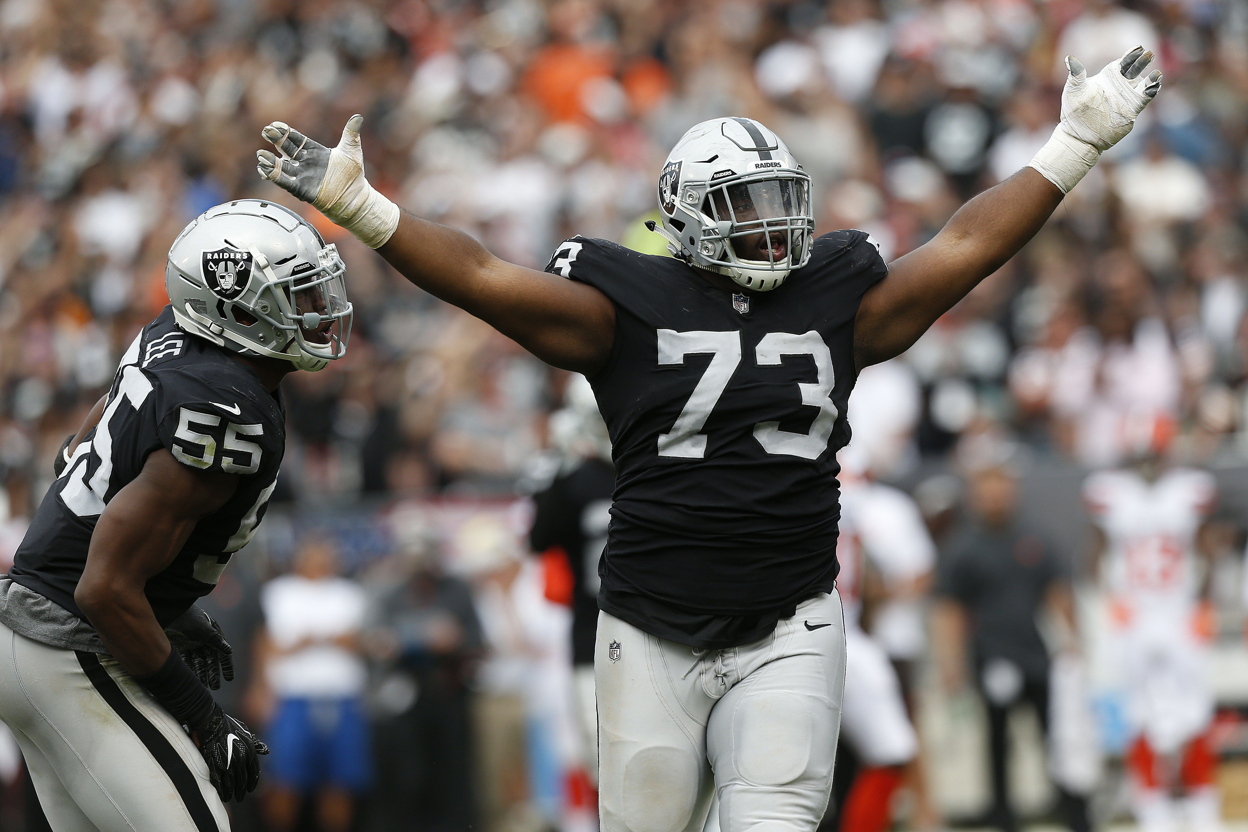 NFL: Cleveland Browns at Oakland Raiders