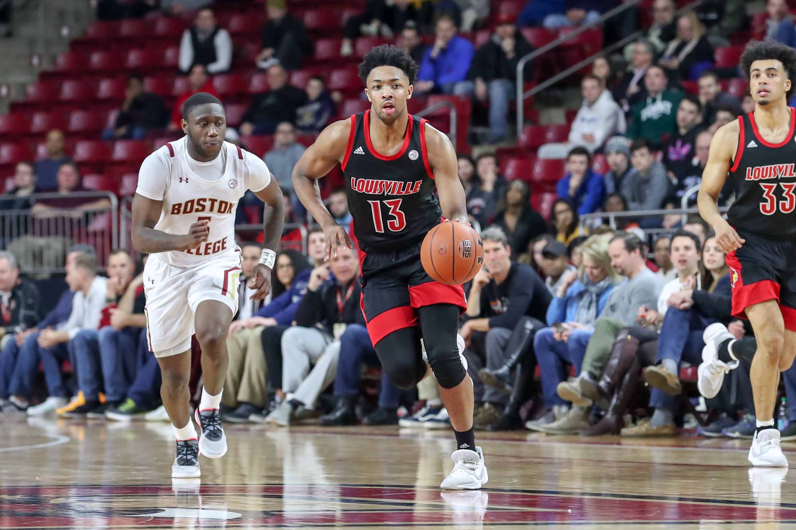 COLLEGE BASKETBALL: JAN 29 Louisville at Boston College