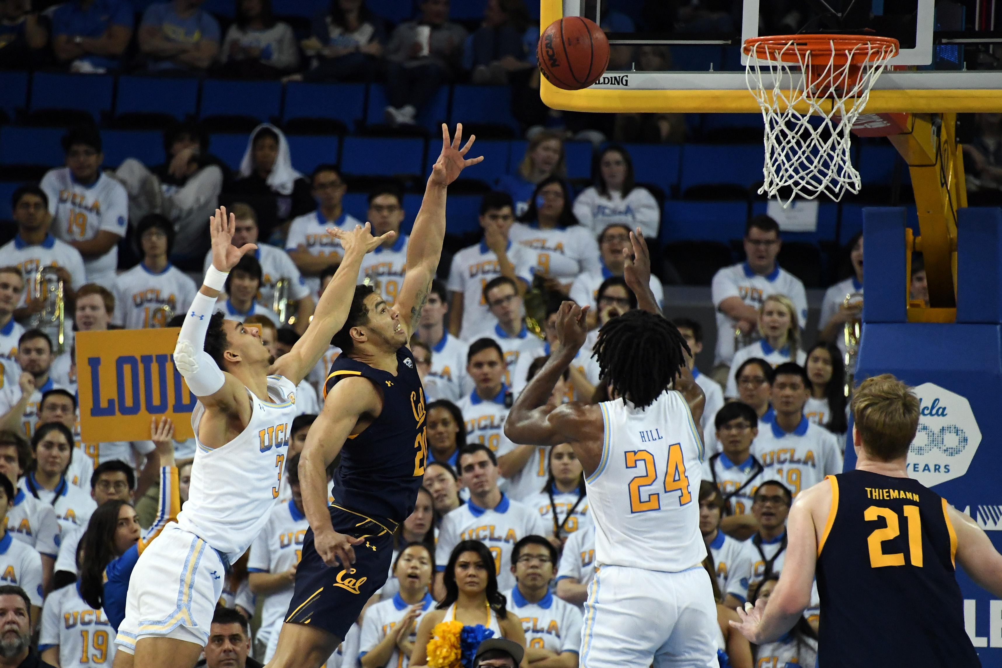 NCAA Basketball: California at UCLA