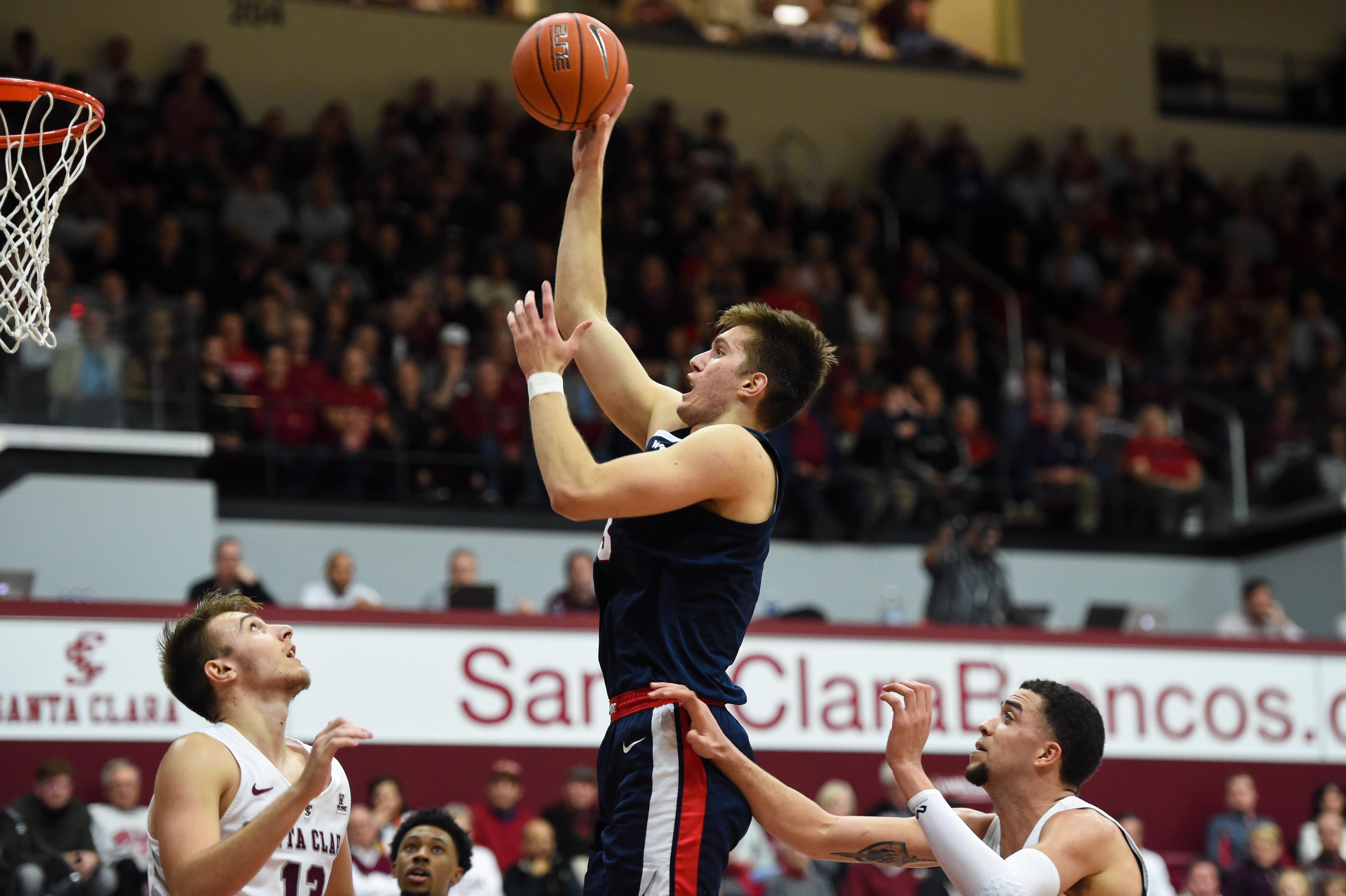NCAA Basketball: Gonzaga at Santa Clara