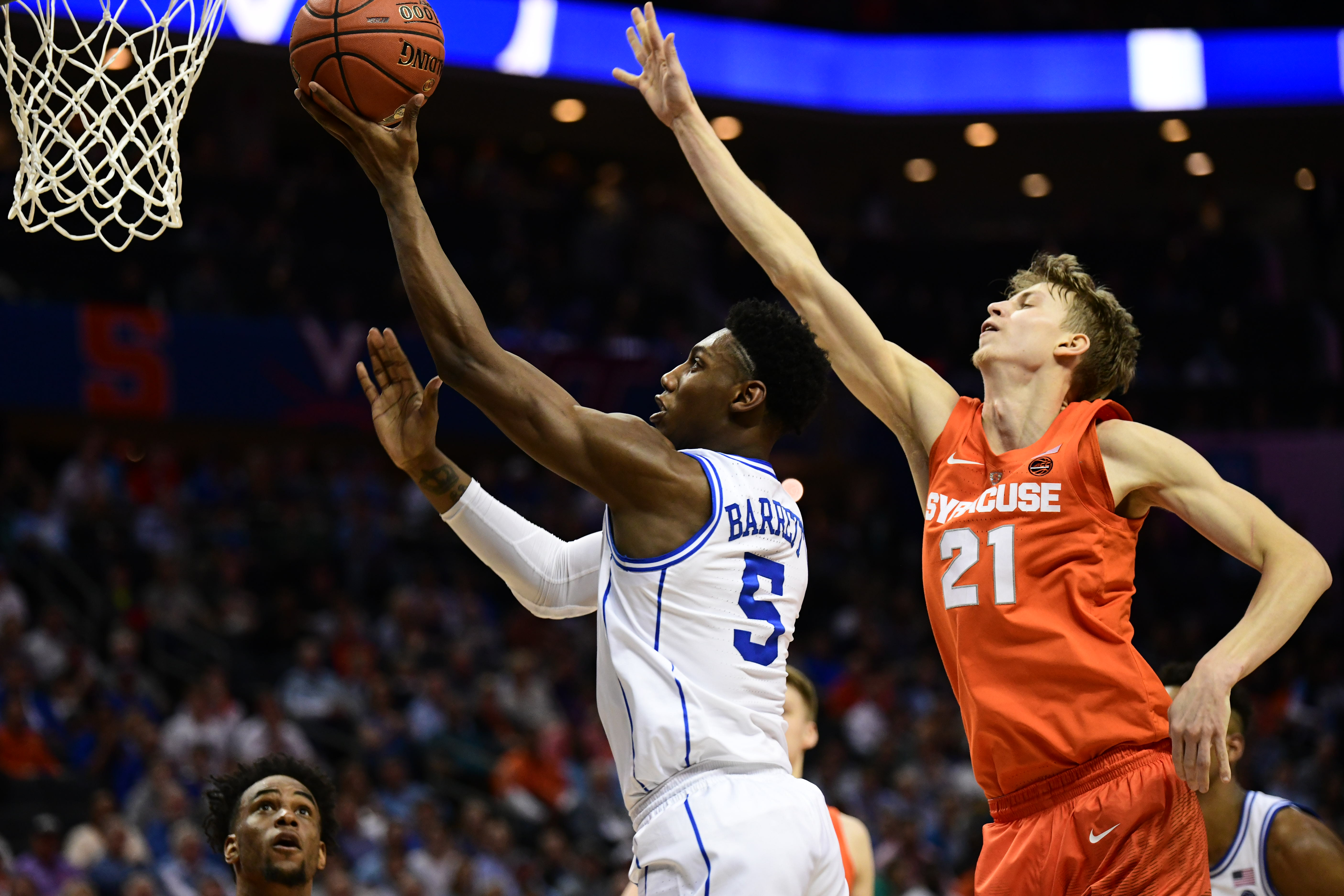 COLLEGE BASKETBALL: MAR 14 ACC Tournament Syracuse v Duke