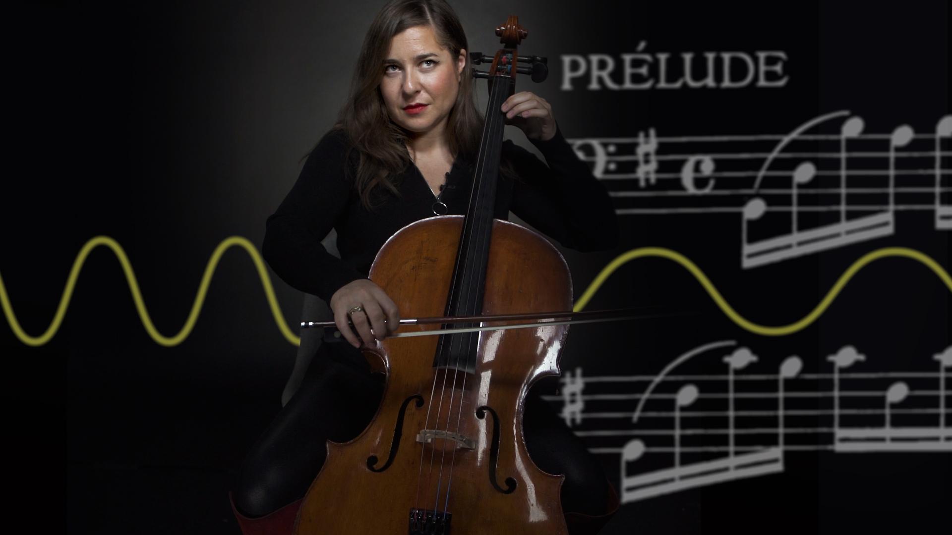 Alisa Weilerstein plays the cello