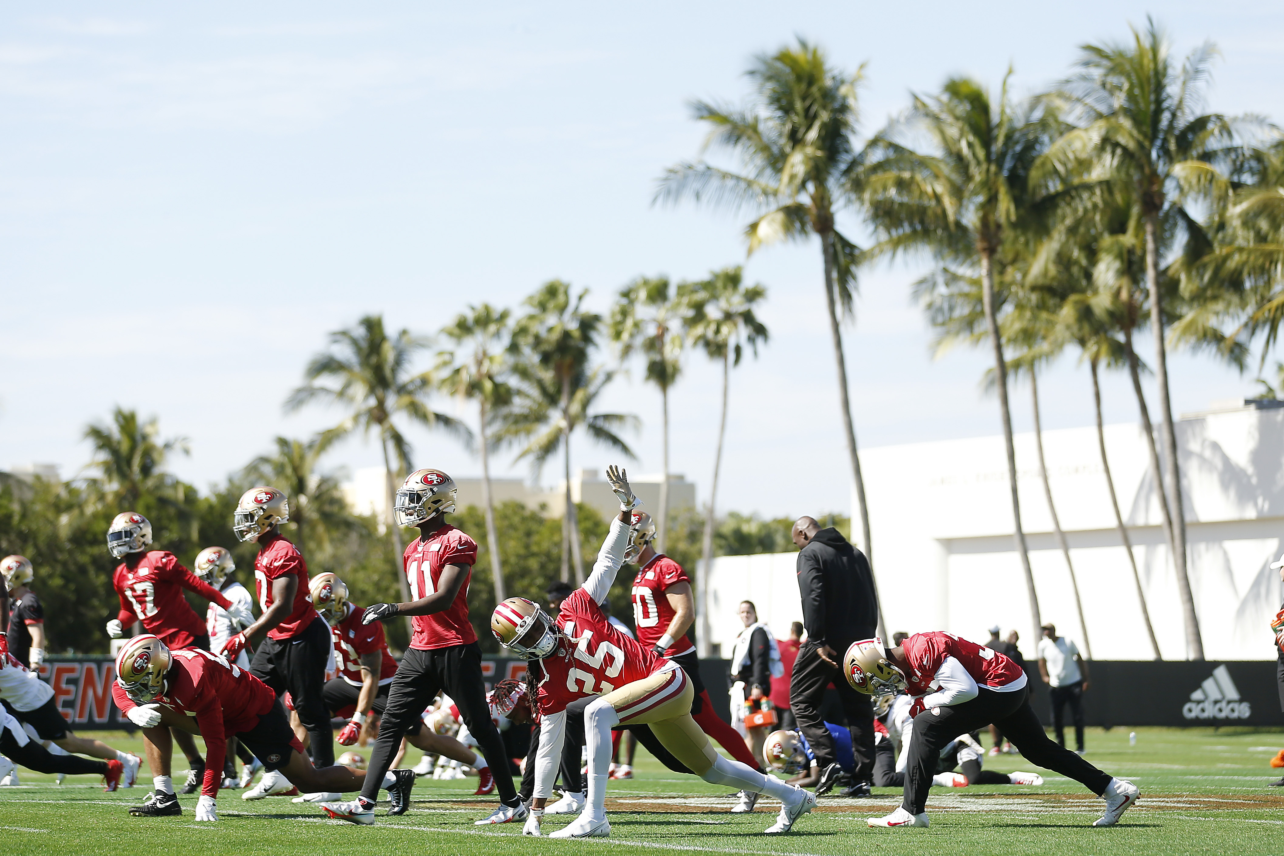 San Francisco 49ers Practice