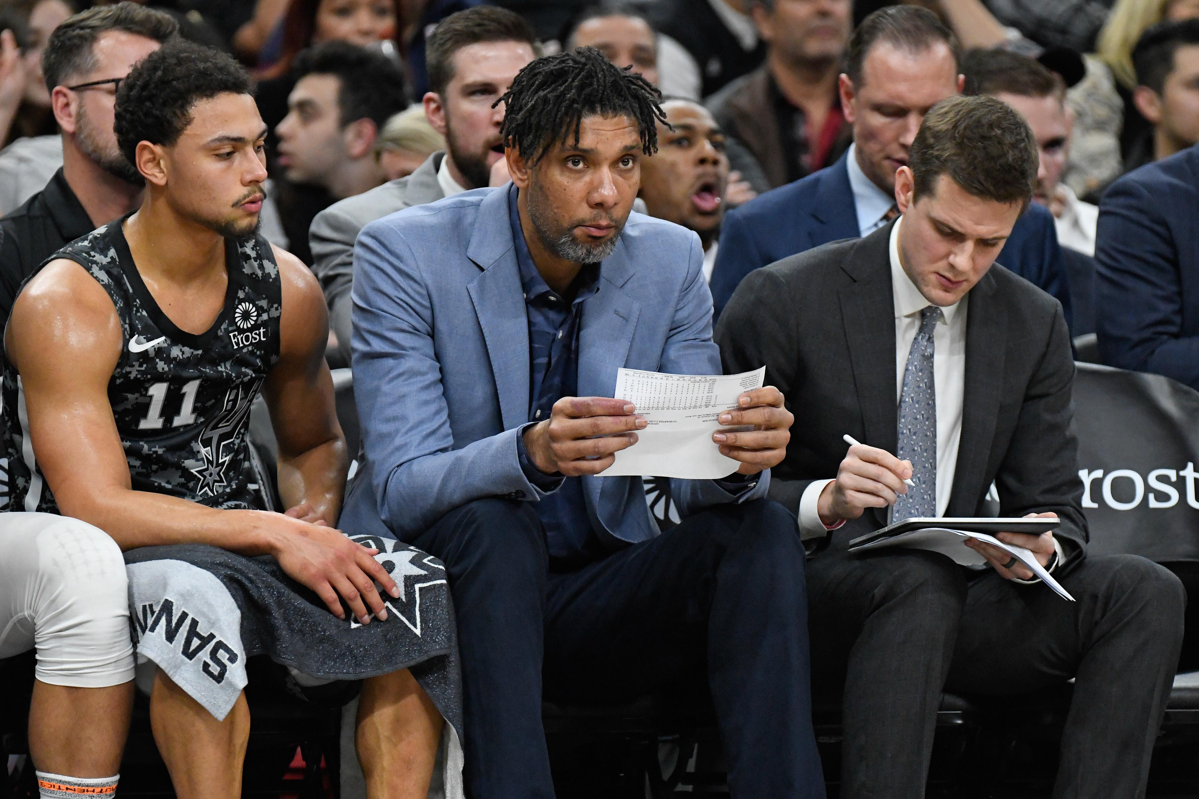 NBA: Atlanta Hawks at San Antonio Spurs