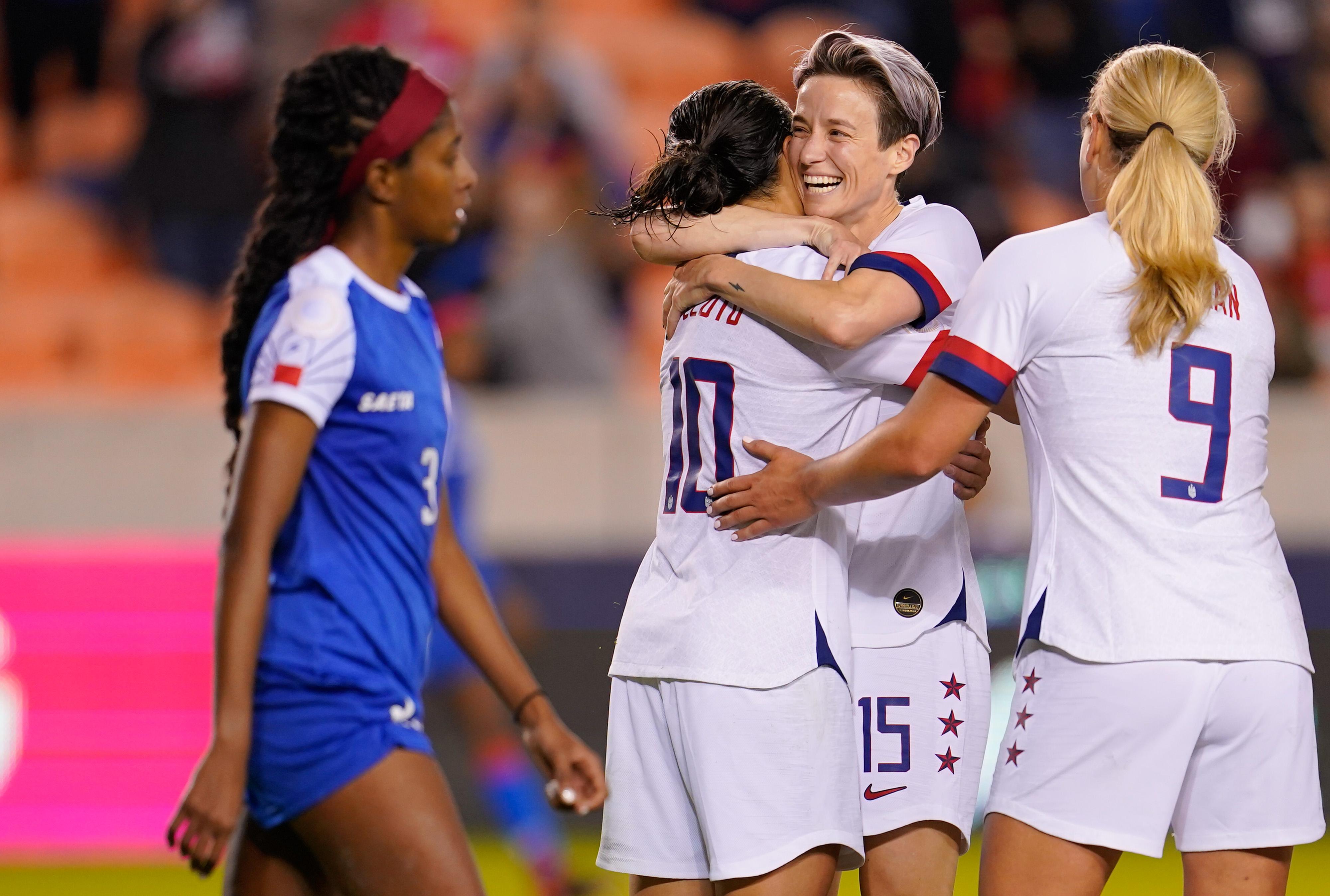 美国vs海地:A组- 2020 CONCACAF女子奥运资格赛