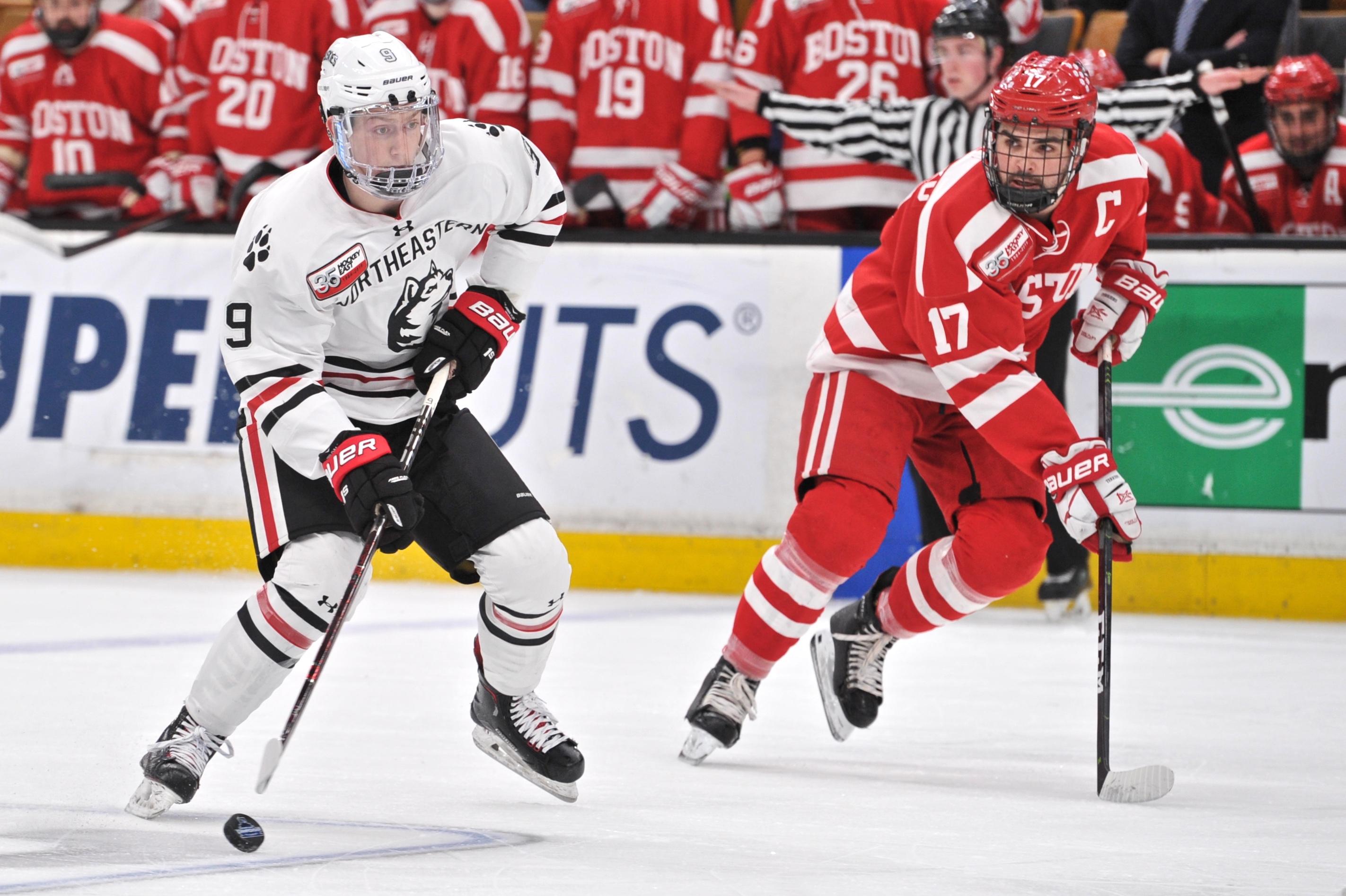 COLLEGE HOCKEY: MAR 22 Hockey East Championship - Boston University v Northeastern