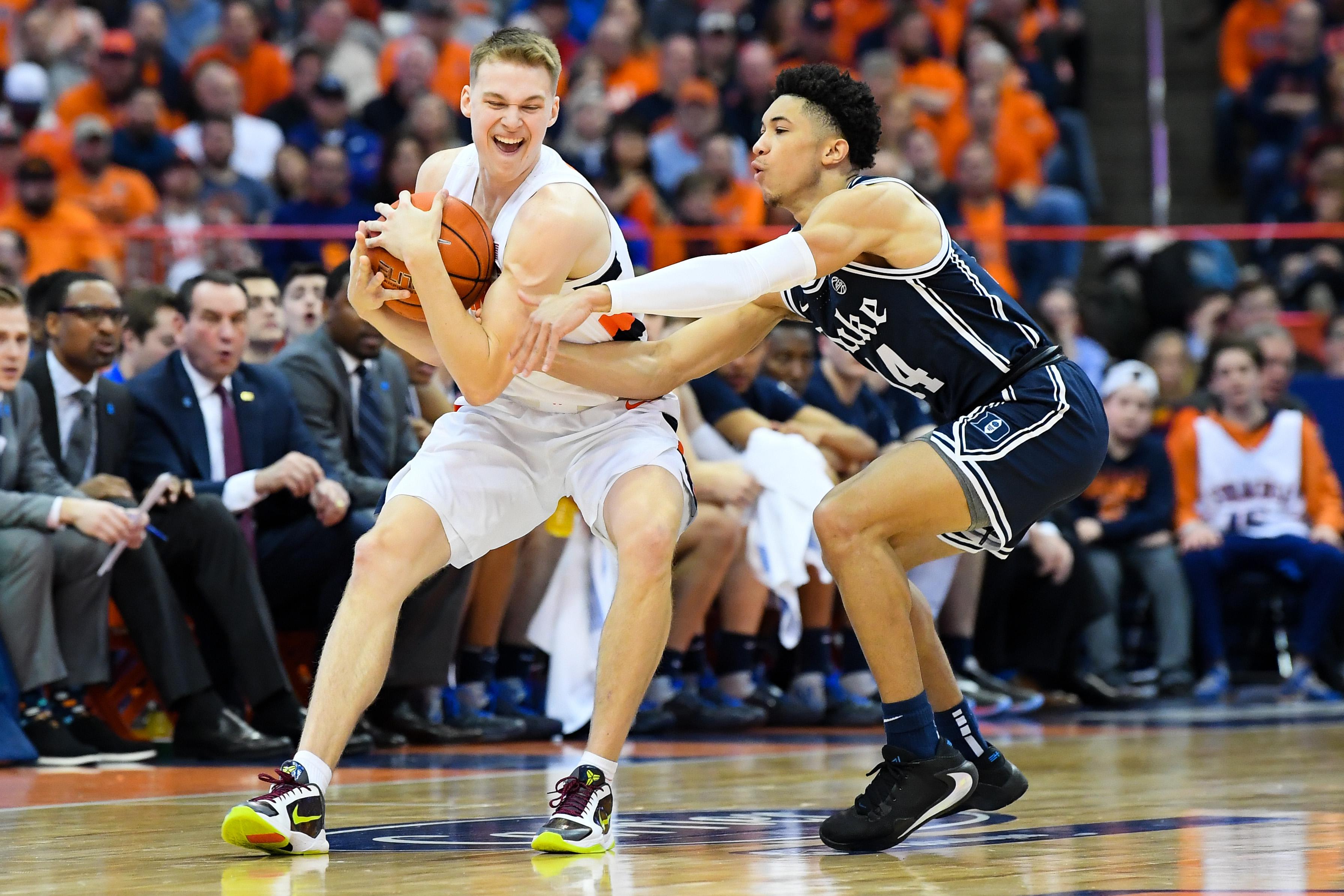 NCAA Basketball: Duke at Syracuse