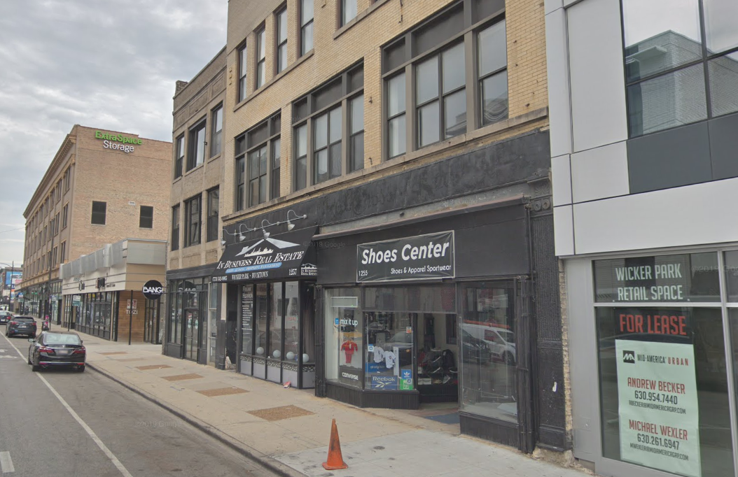 """Four men were arrested and several weapons were seized after police were called to a """"gang related party"""" Feb. 1, 2020, in the 1200 block of North Milwaukee Avenue in Wicker Park."""