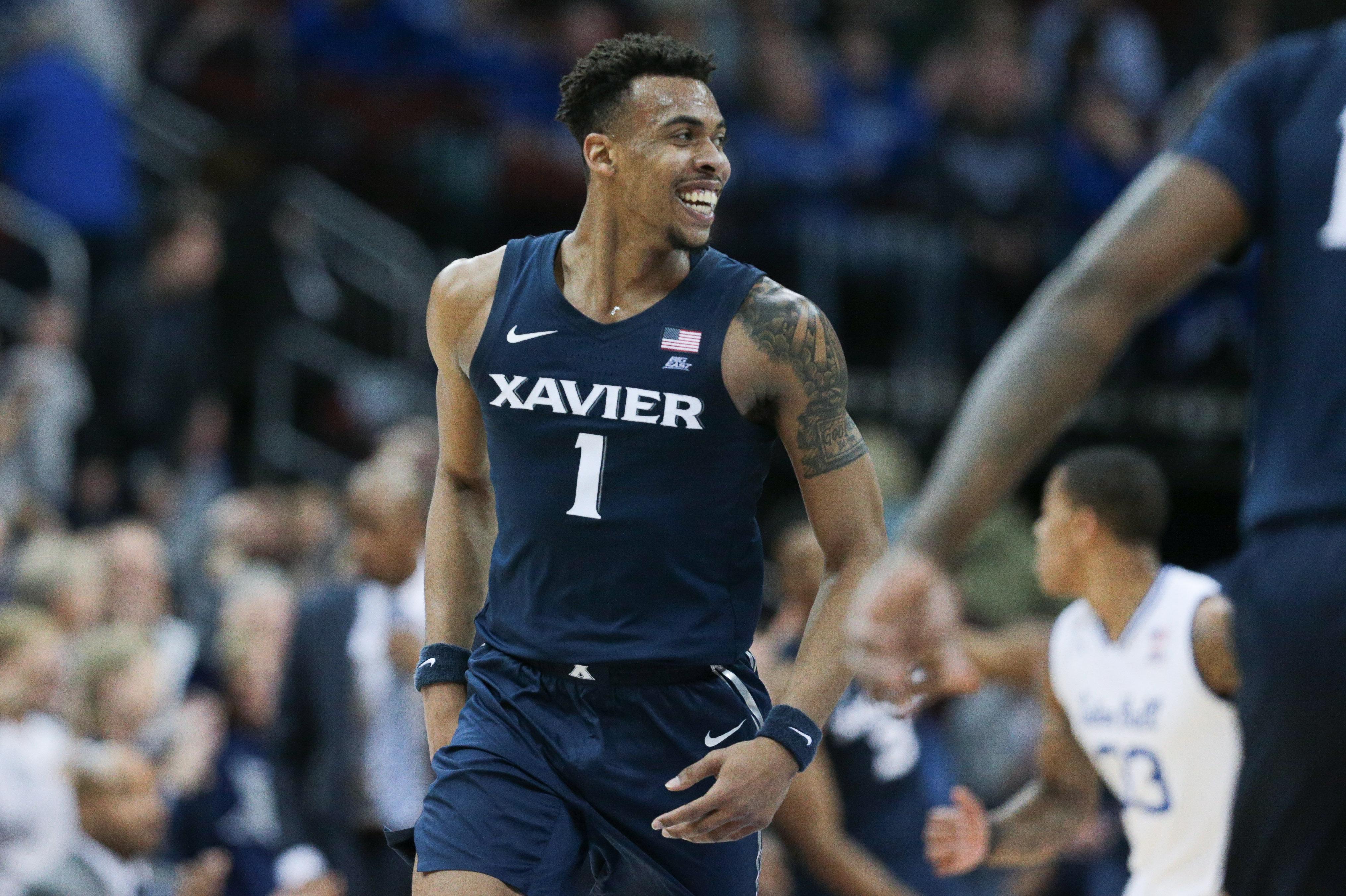 NCAA Basketball: Xavier at Seton Hall