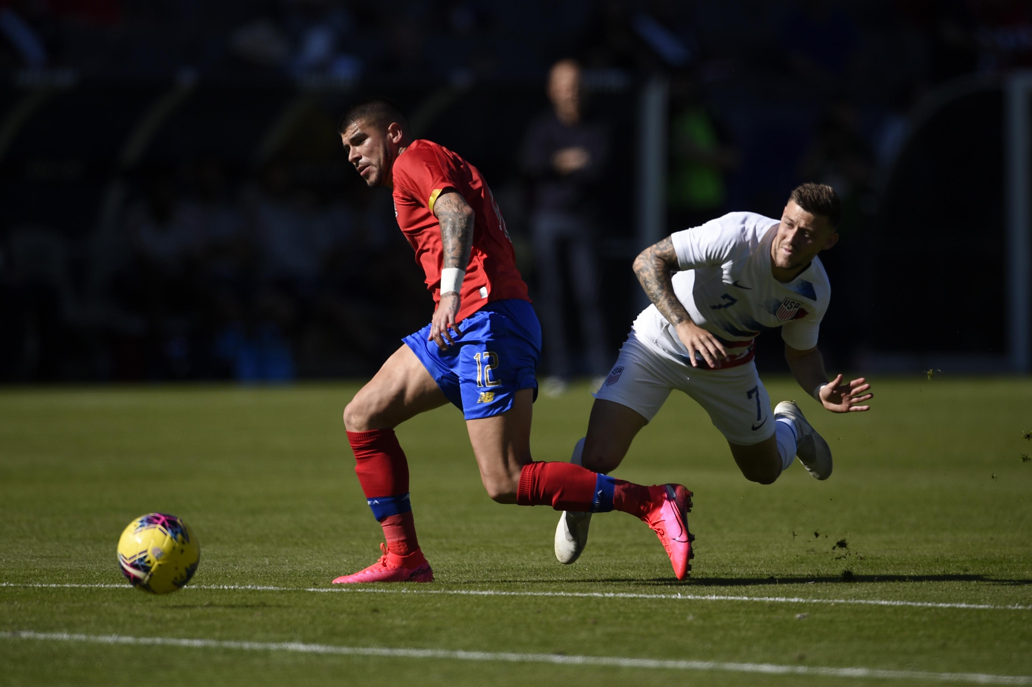 Soccer: International Friendly Soccer-Costa Rica at USA