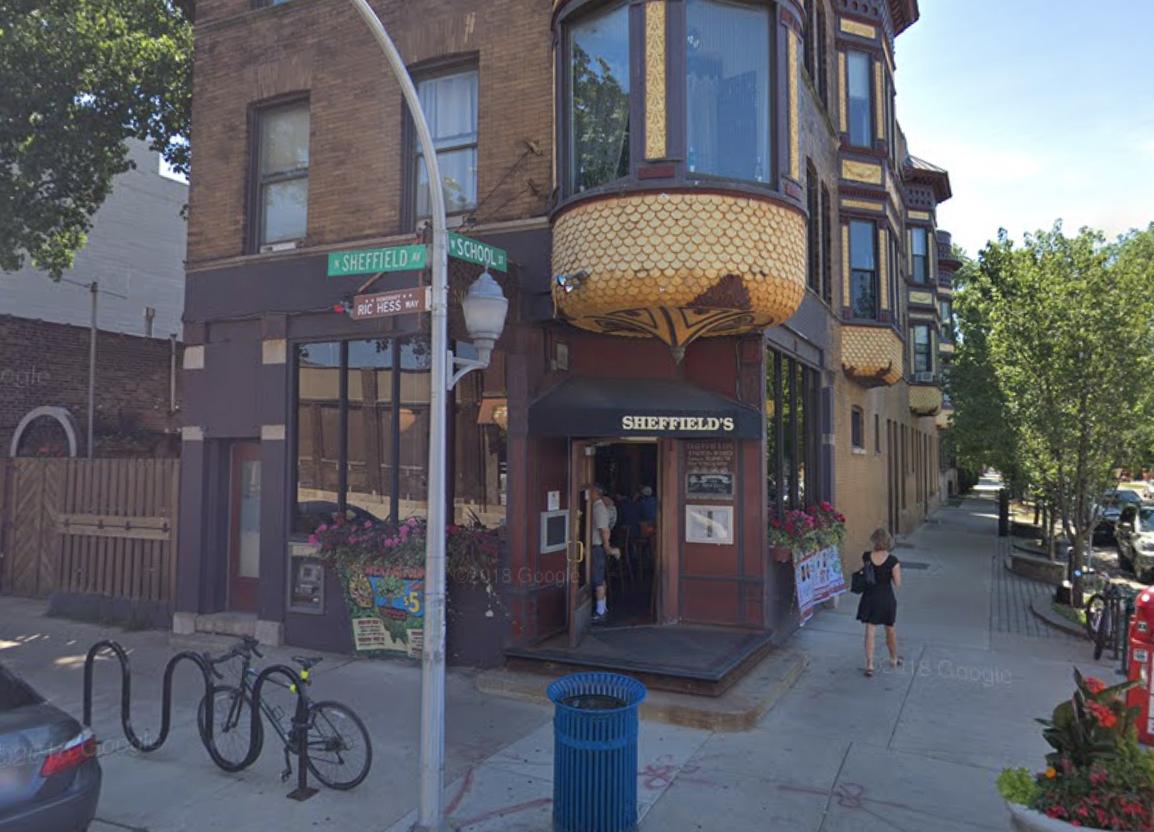 A corner bar