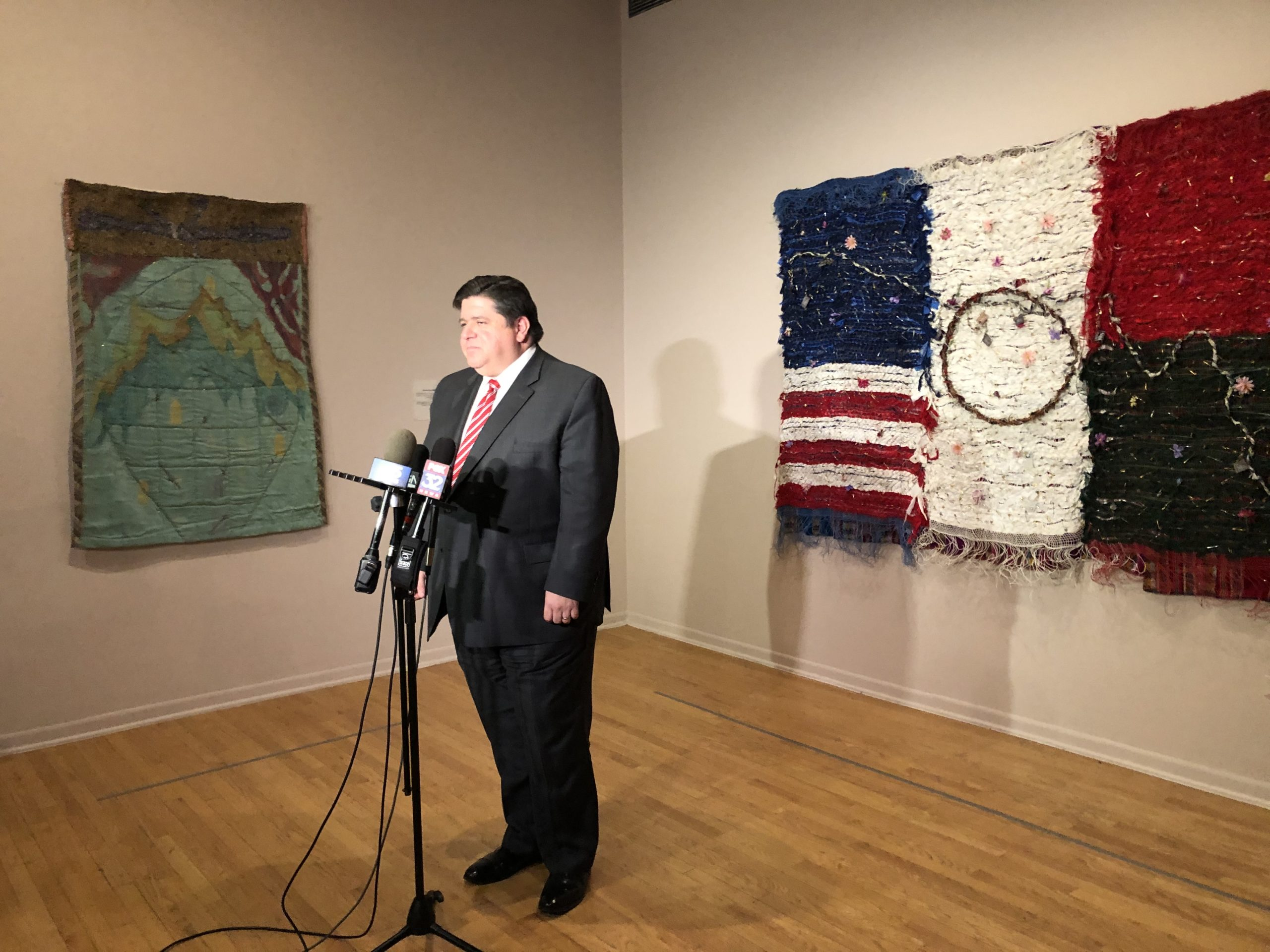 Gov. J.B. Pritzker announced the next phase of his early education agenda Jan. 21 at the National Museum of Mexican Art in Pilsen.