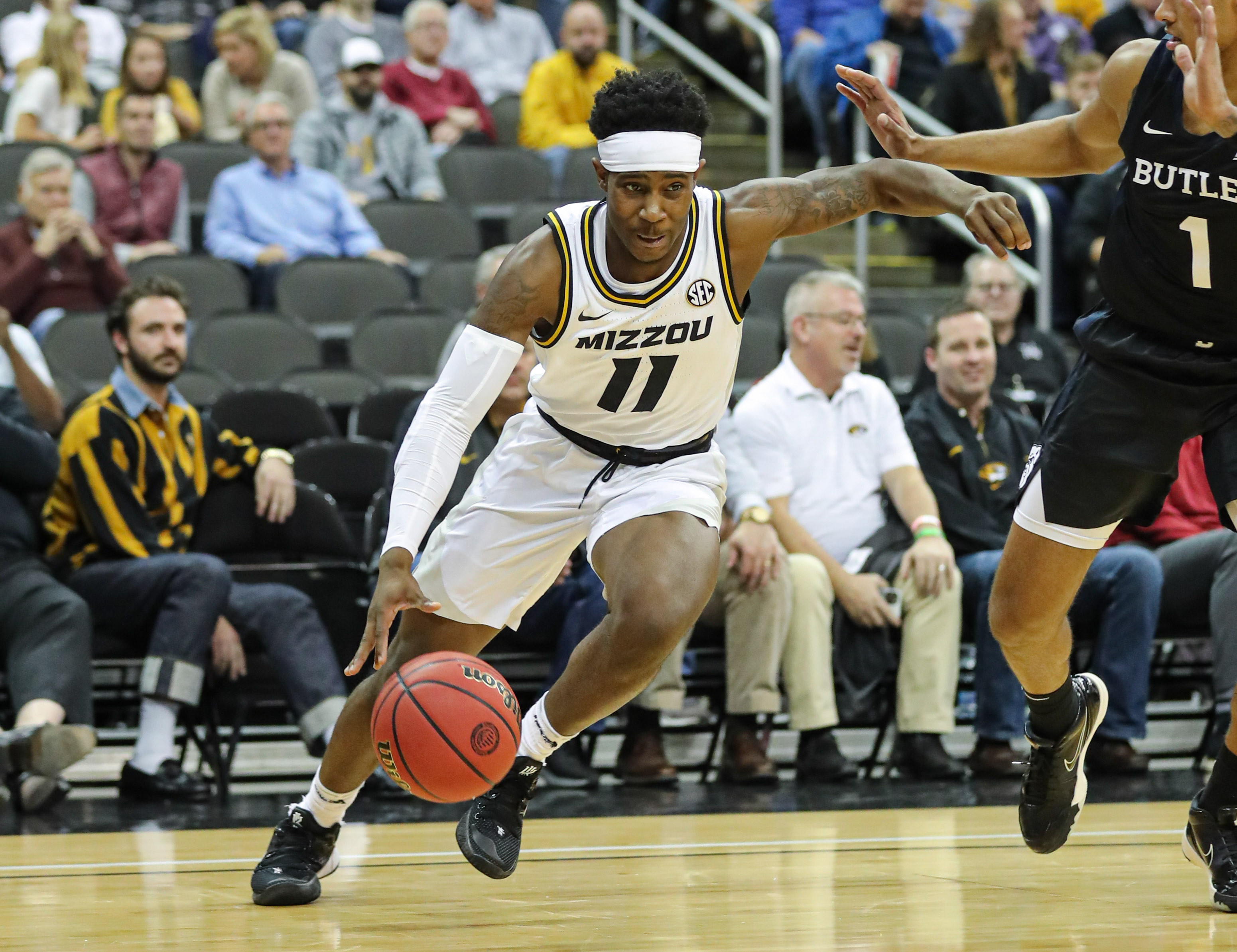 NCAA Basketball: Butler at Missouri