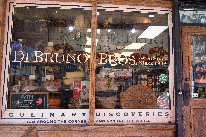 The storefront at Di Bruno Bros.