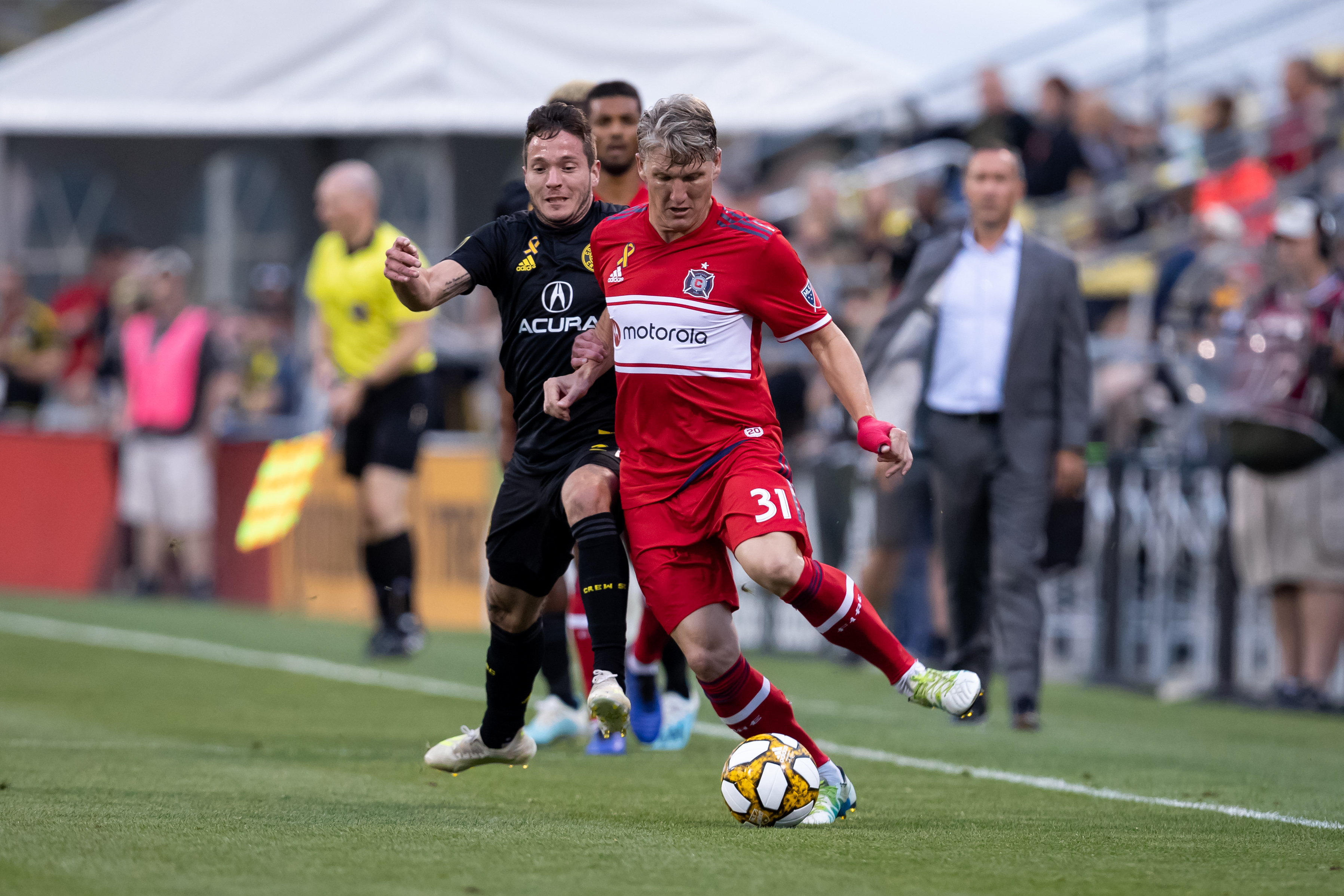 SOCCER: AUG 31 MLS - Chicago Fire at Columbus Crew SC