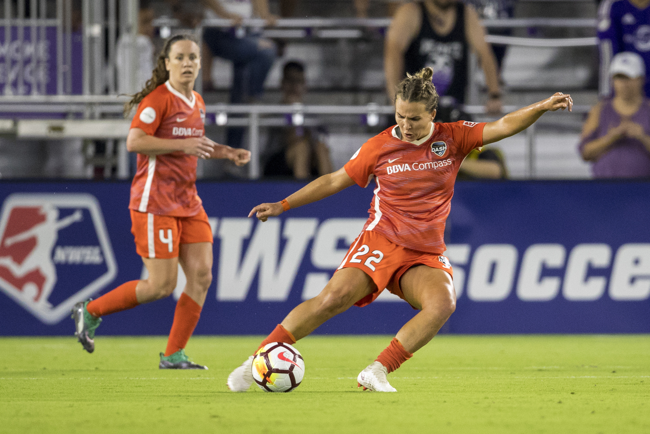 SOCCER: JUN 27 NWSL - Houston Dash at Orlando Pride