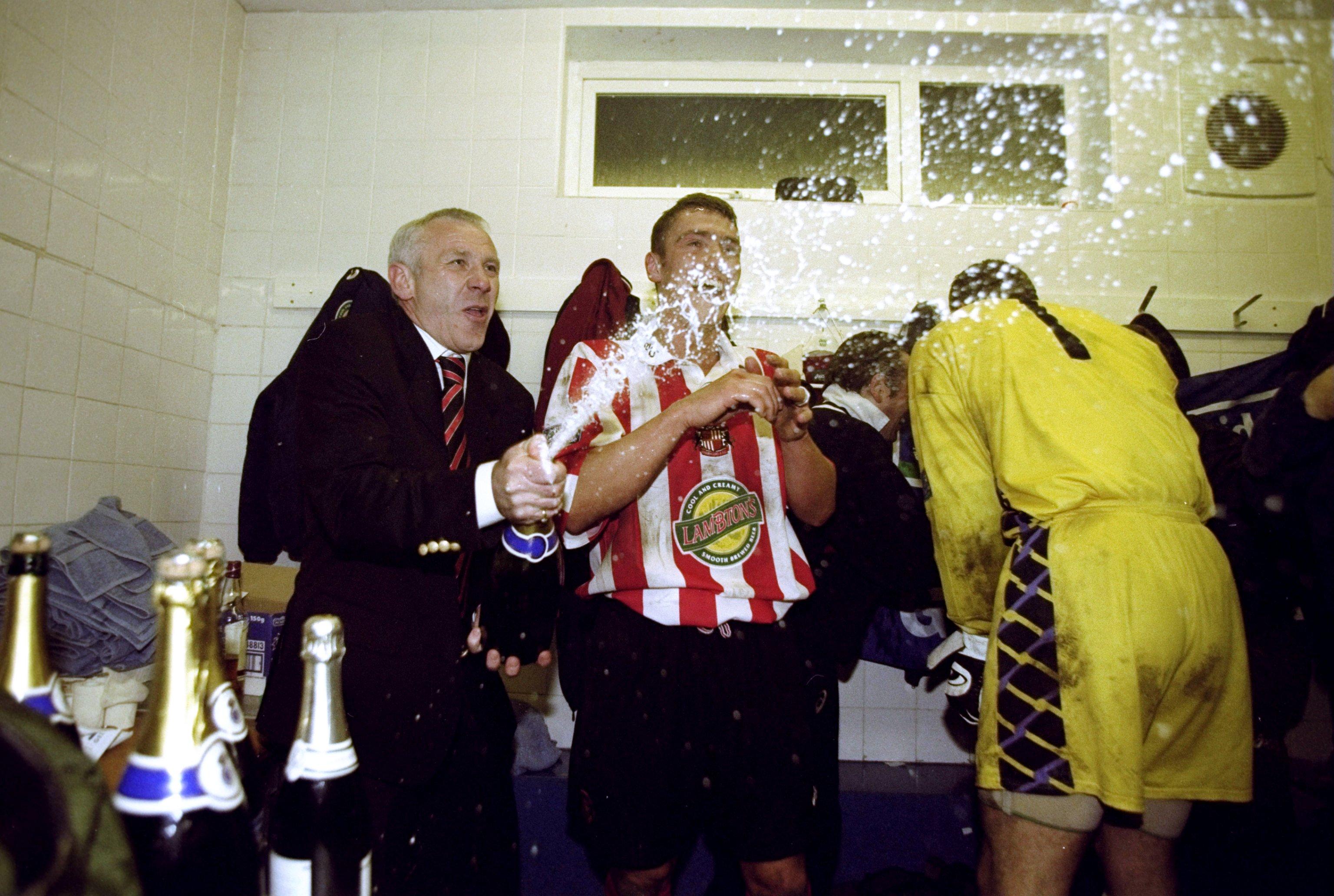 Bury v Sunderland Peter Reid