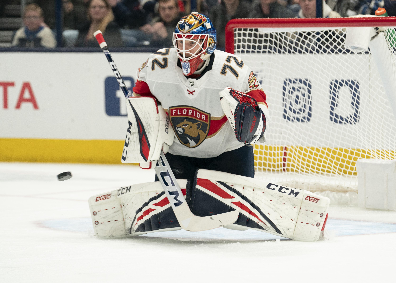 NHL: FEB 04 Panthers at Blue Jackets
