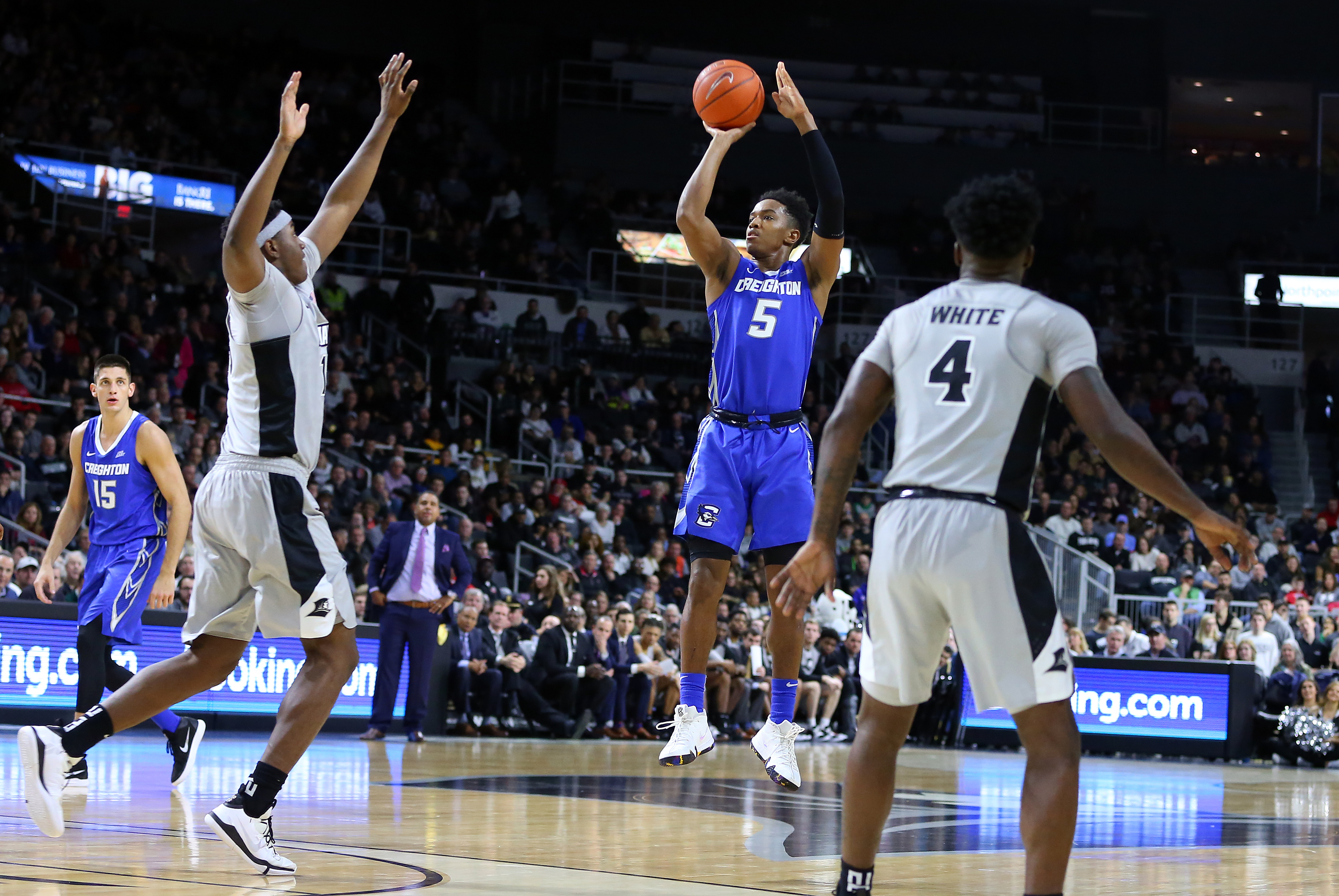 COLLEGE BASKETBALL: DEC 31 Creighton at Providence
