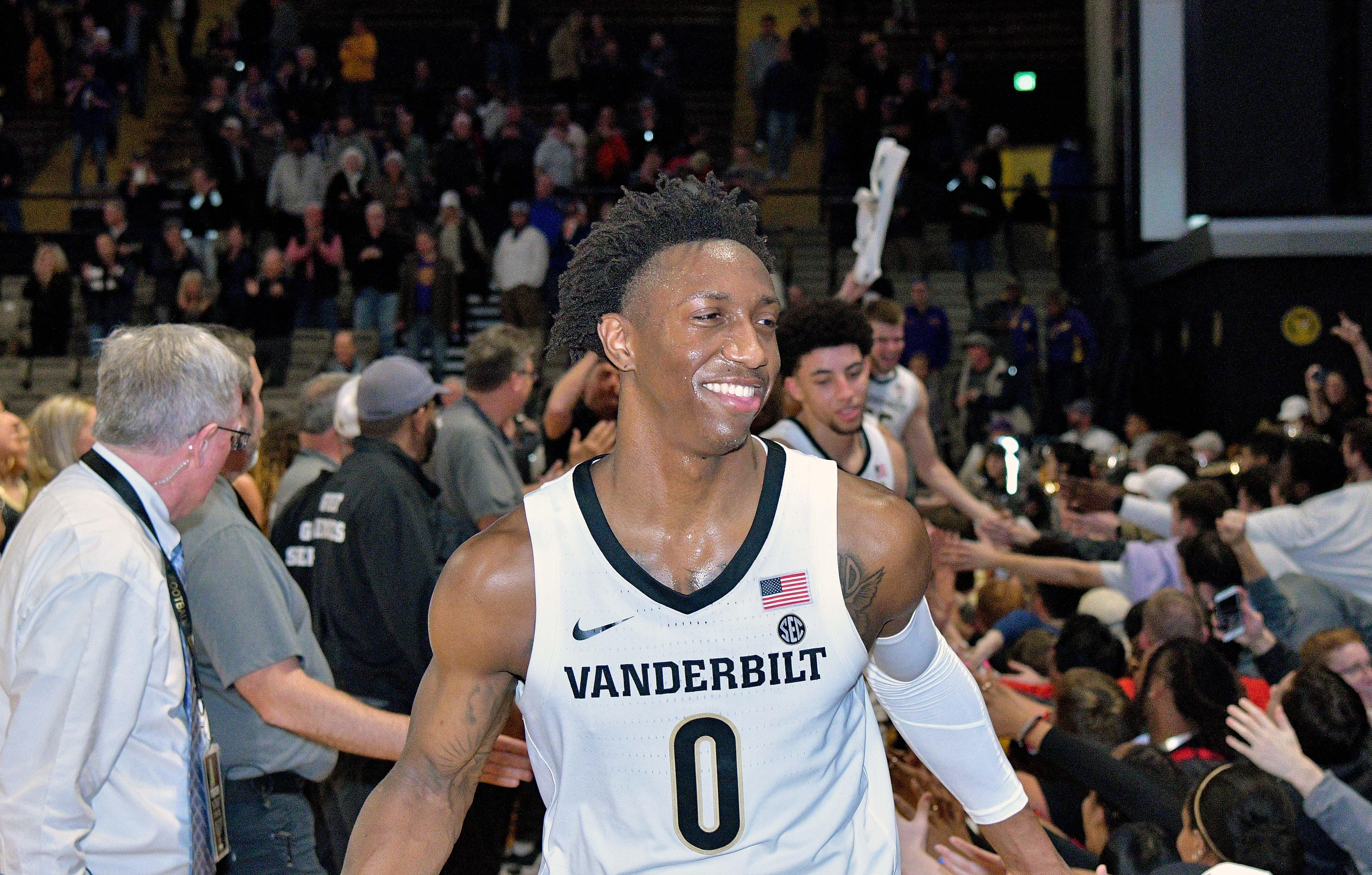 NCAA Basketball: Louisiana State at Vanderbilt