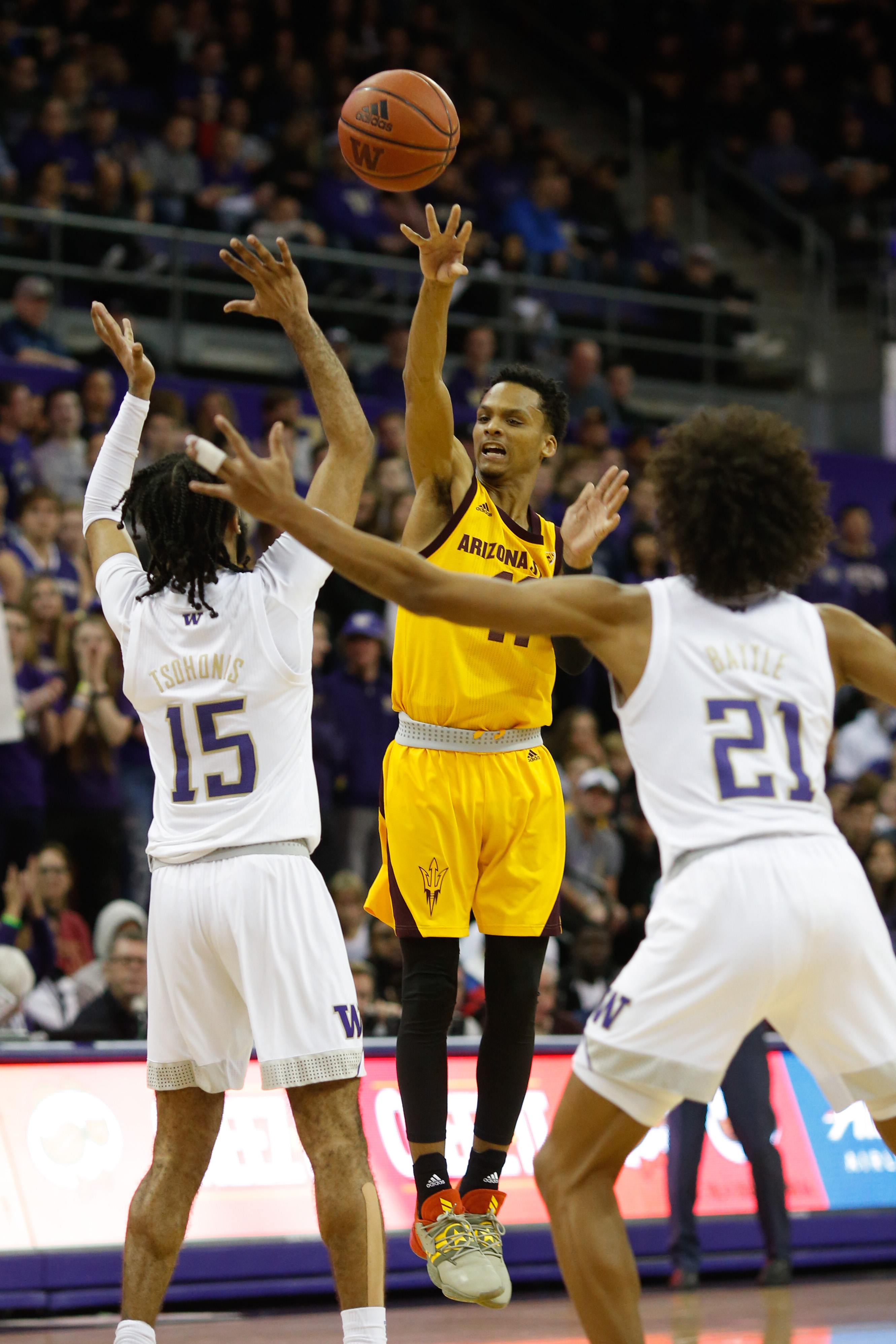 NCAA Basketball: Arizona State at Washington