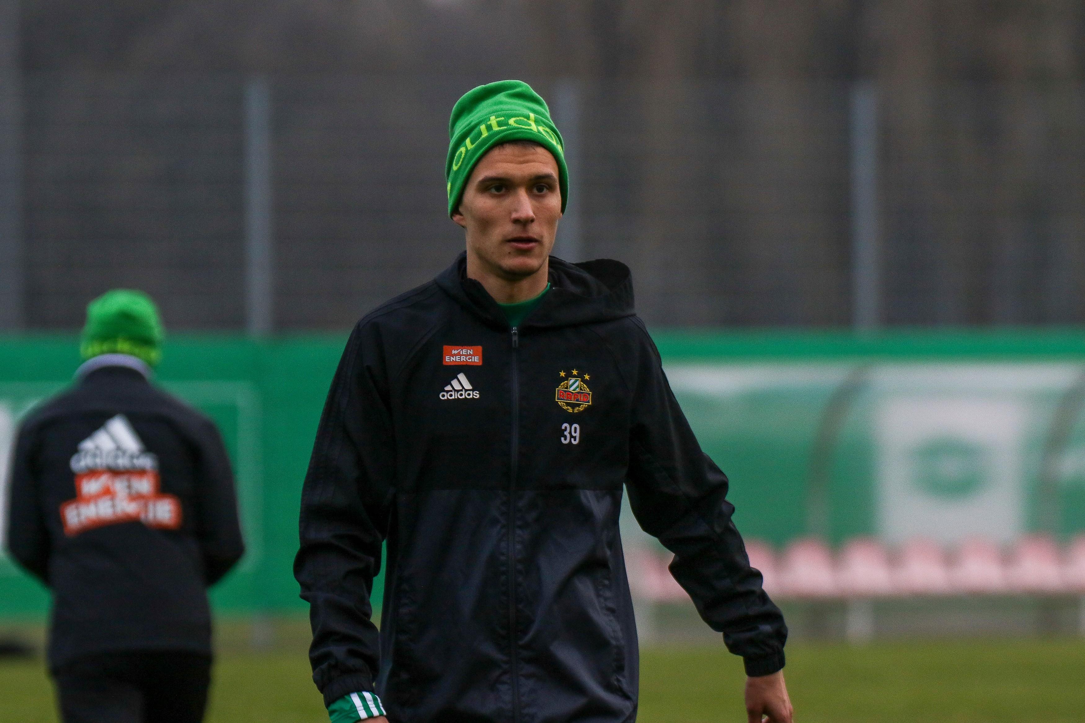 SK Rapid Wien Training Start After Winter Break