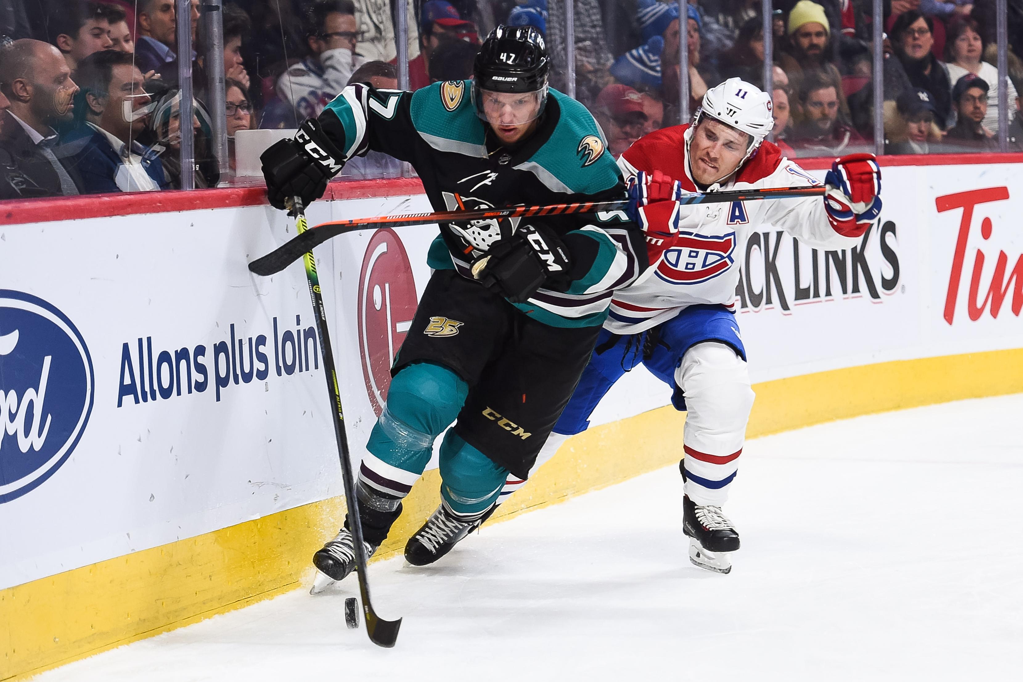 NHL: FEB 05 Ducks at Canadiens